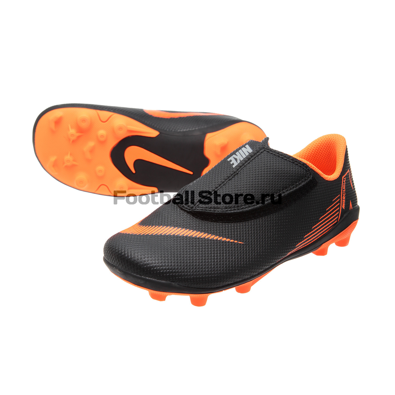 Бутсы детские Nike Vapor 12 Club PS FG/MG AH7351-081 бутсы nike шиповки nike jr tiempox legend vi tf 819191 018