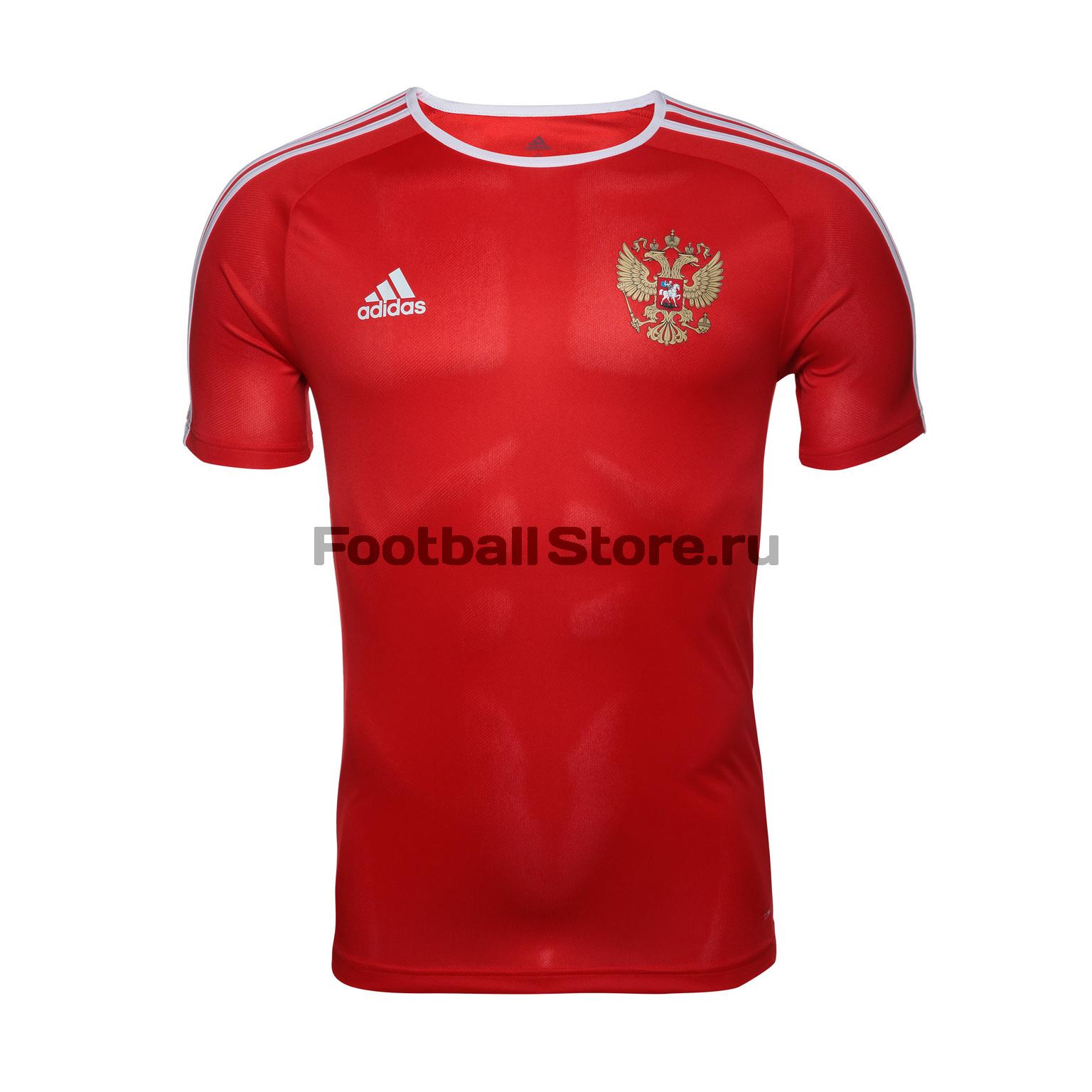 Домашняя футболка Adidas болельщика сборной России CE8512