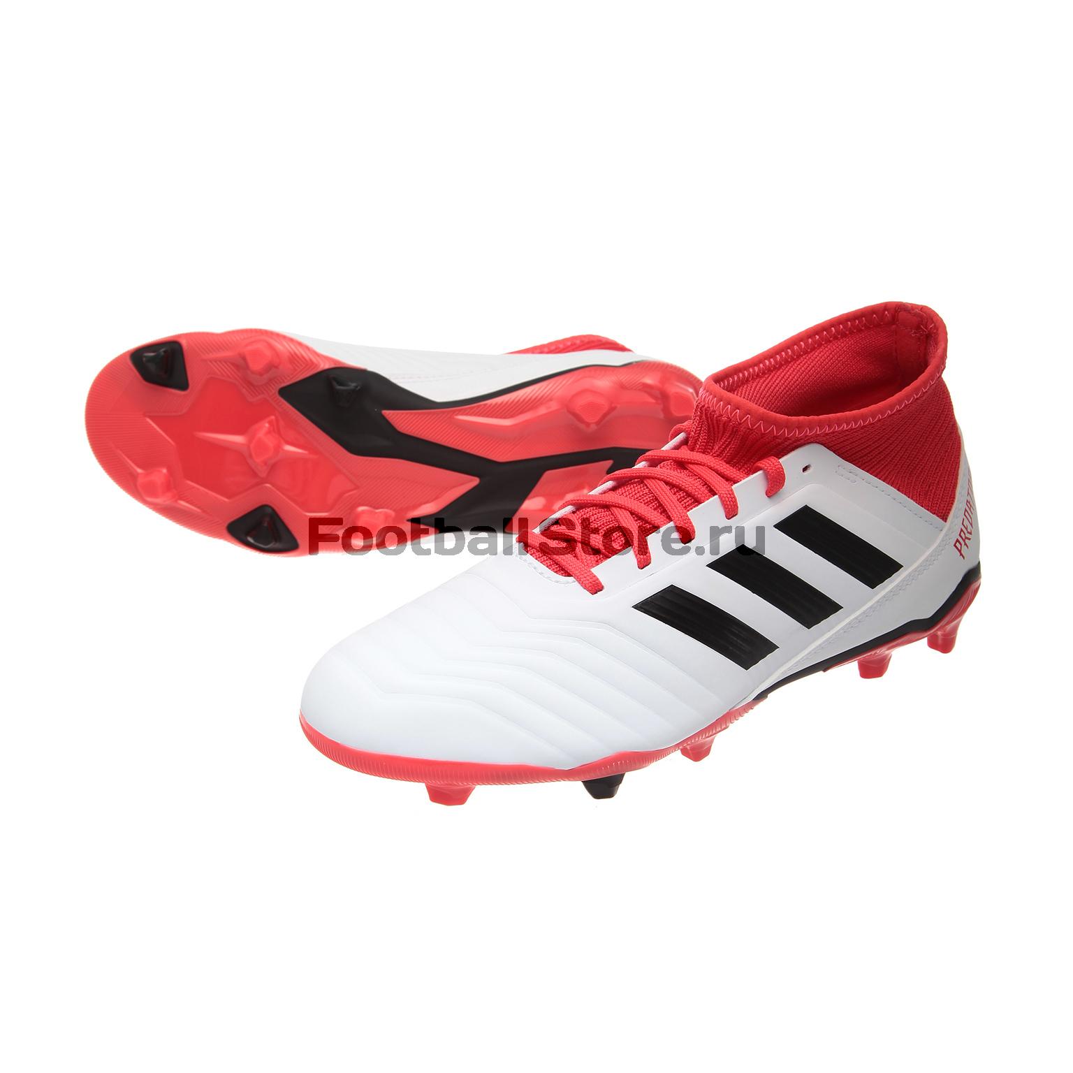 Бутсы Adidas Predator 18.3 FG JR CP9011 adidas predator junior gk glove