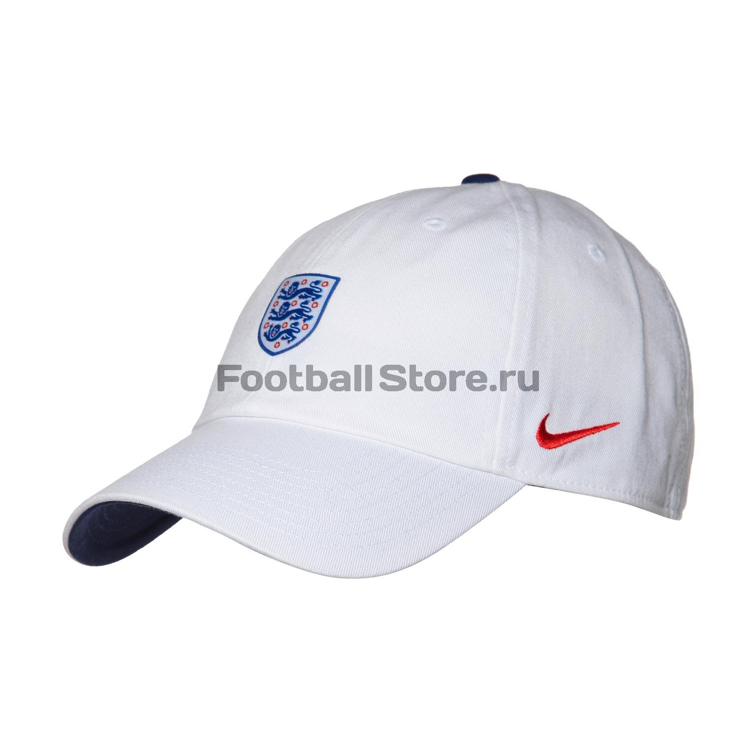 Бейсболка Nike England Cap 881712-101 бейсболки nike бейсболка u nsw h86 cap metal futura