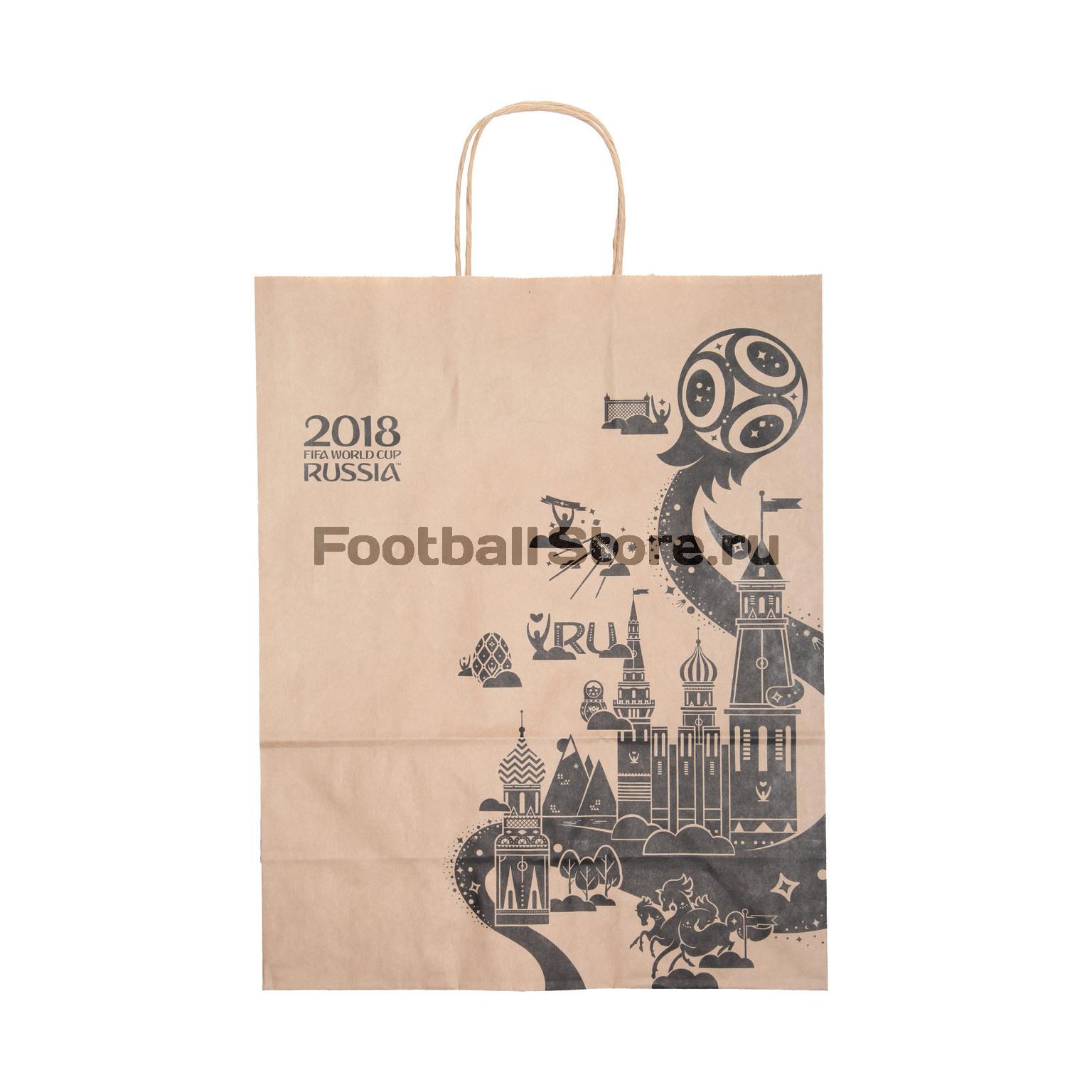 Пакет подарочный ЧМ-2018 FIFA 2018 УТ-0373 фанатская атрибутика nike curry nba
