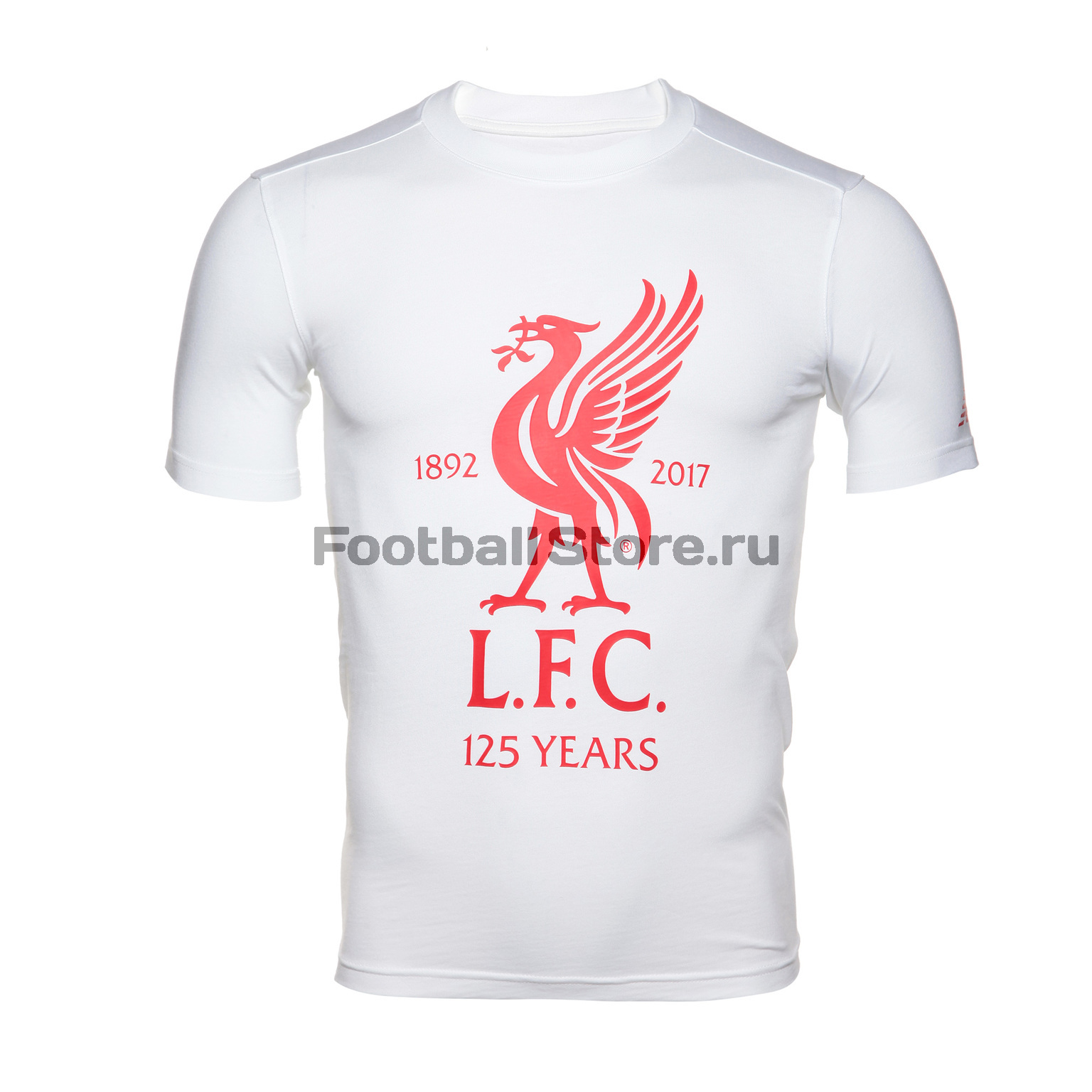 Футболка New Balance Liverpool Graphic AMT71595/WT футболка детская new balance nk9e52105u