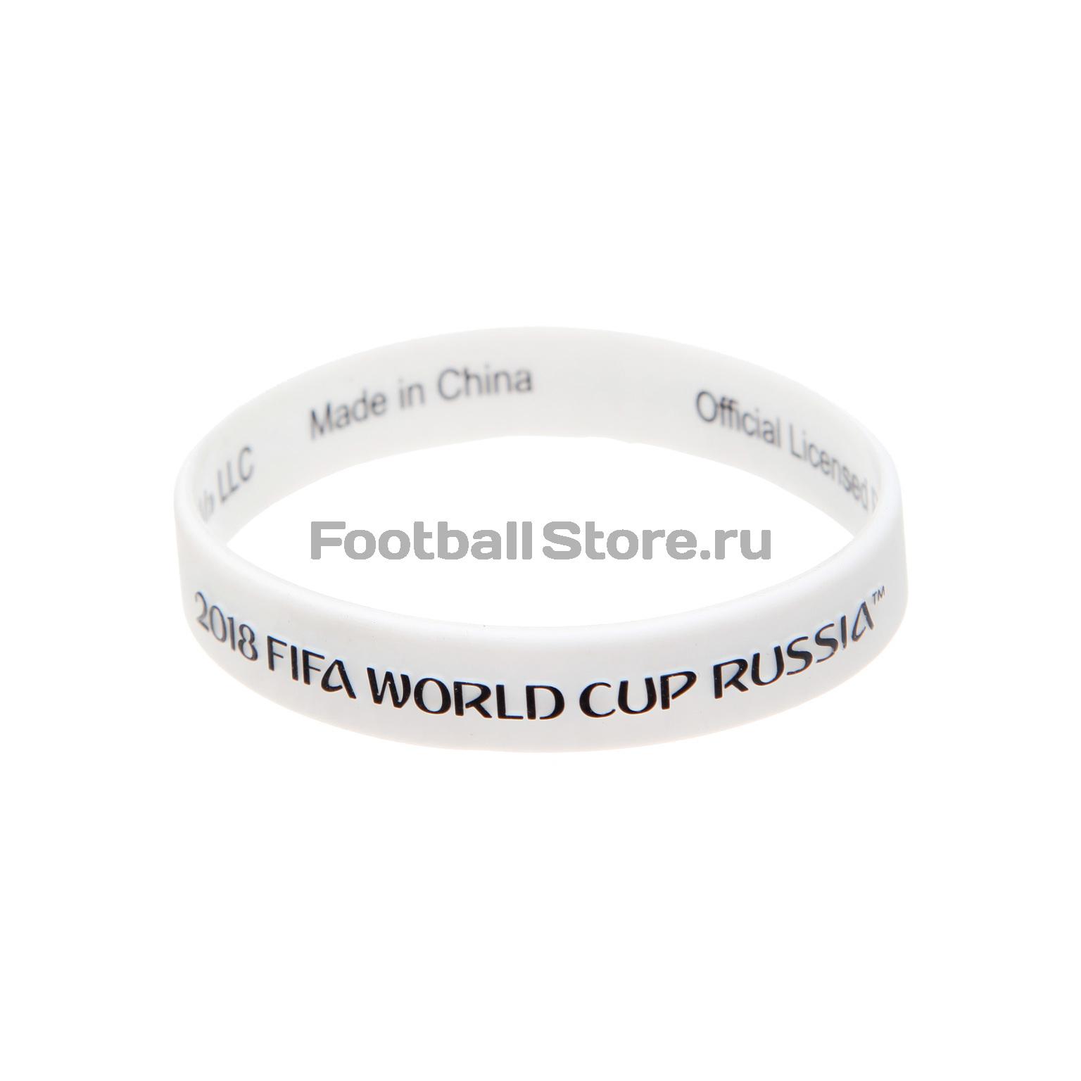 Браслет силиконовый Чемпионат мира FIFA 2018 УТ-0358 куртка голубого цвета brums ут 00008775