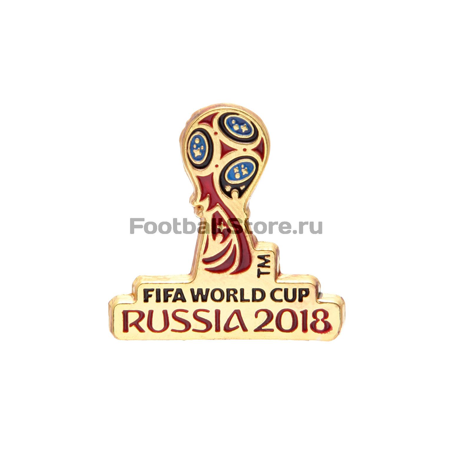 Значок Эмблема ЧМ-2018 FIFA УТ-0285 куртка голубого цвета brums ут 00008775