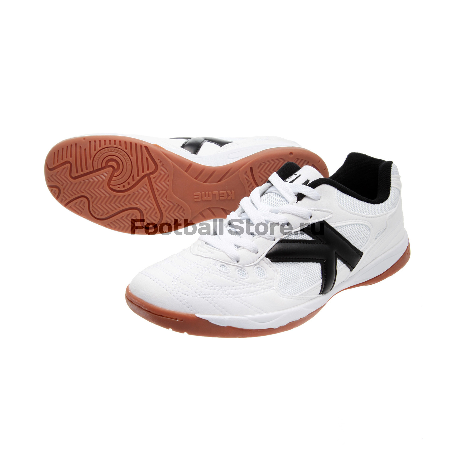 Футзалки Kelme Indoor Copa 55257-006 men and women casual canvas flat heel flats loafers shoes