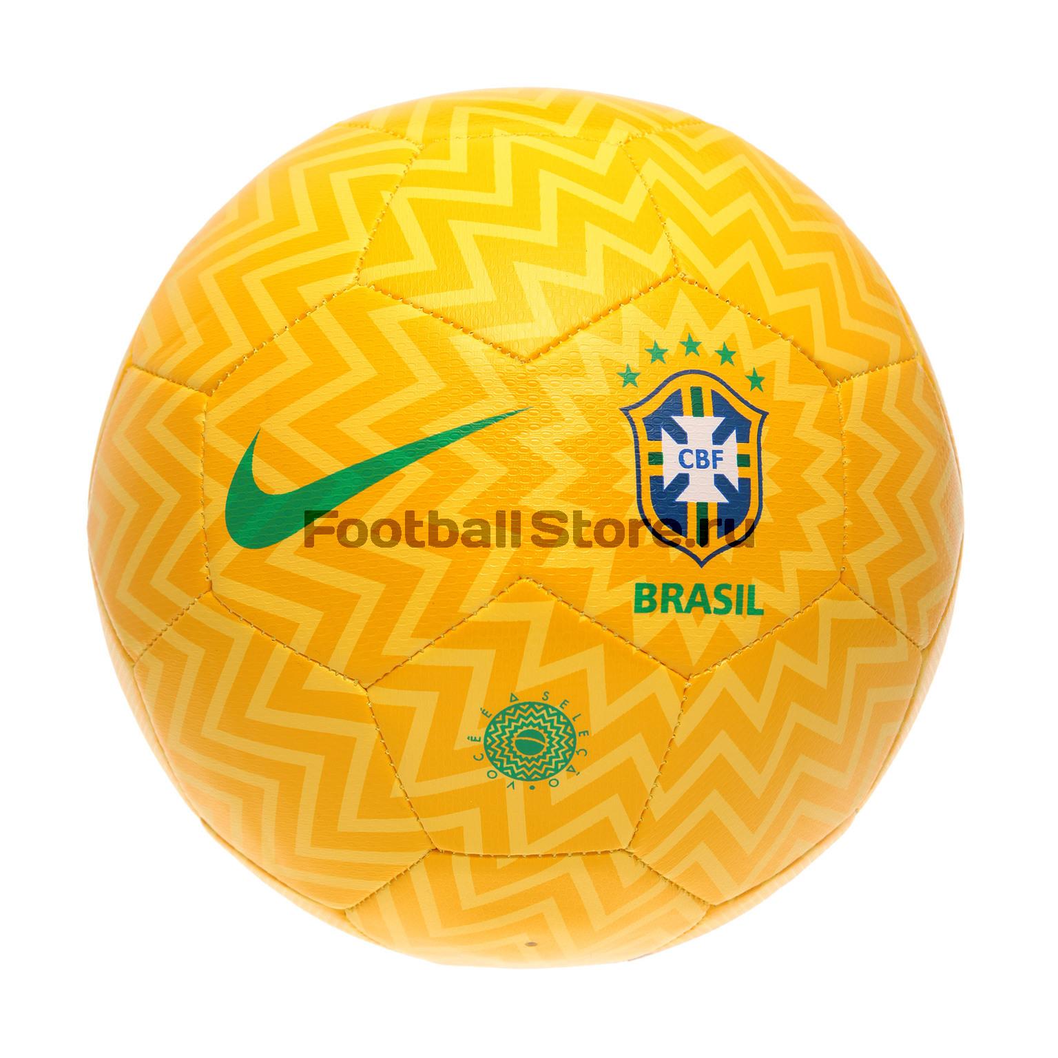 цена на Футбольный мяч Nike сб. Бразилии SC3237-750