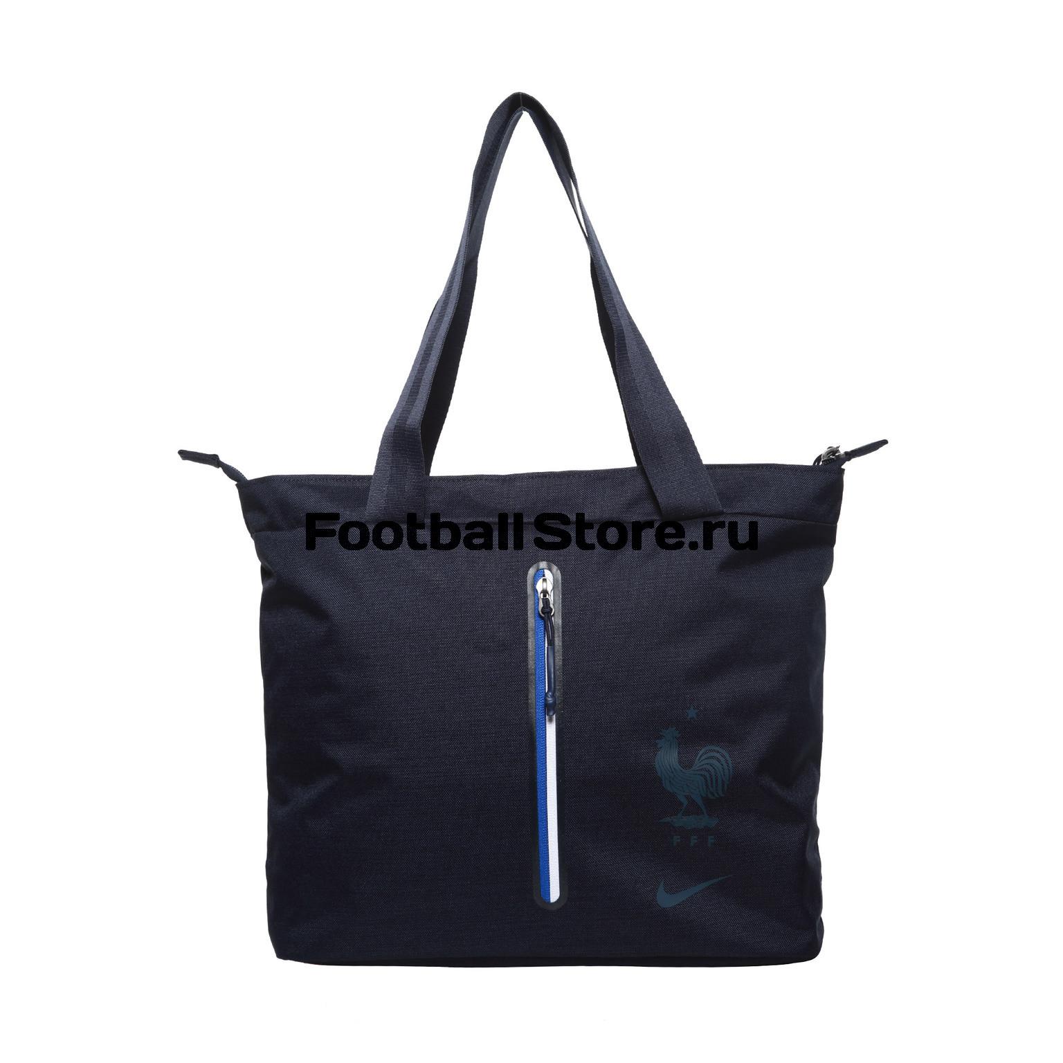 Сумка Nike France Stadium Tote BA5514-451 nike nike fc manchester united 2014 15 stadium otc