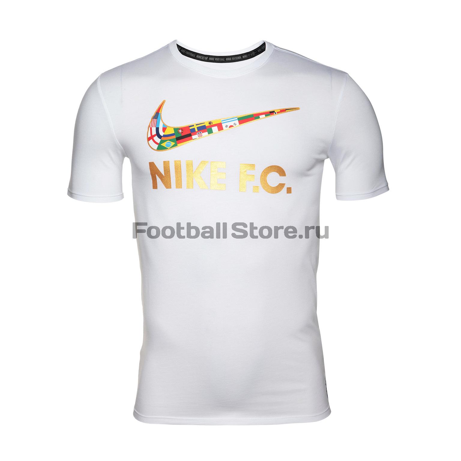 Футболка Nike FC Tee 911400-101 roma nike футболка nike roma tee crest 888804 613