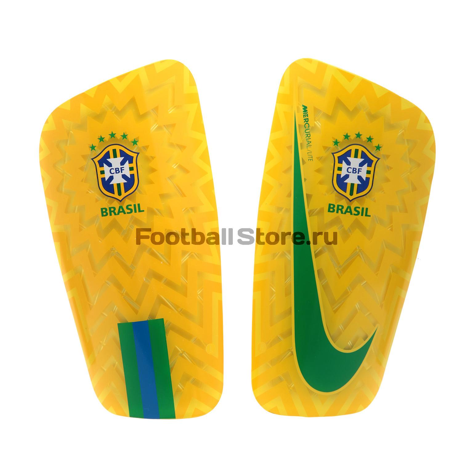 Щитки Nike Mercurial сборной Бразилии SP2123-750 nike nike mercurial lite