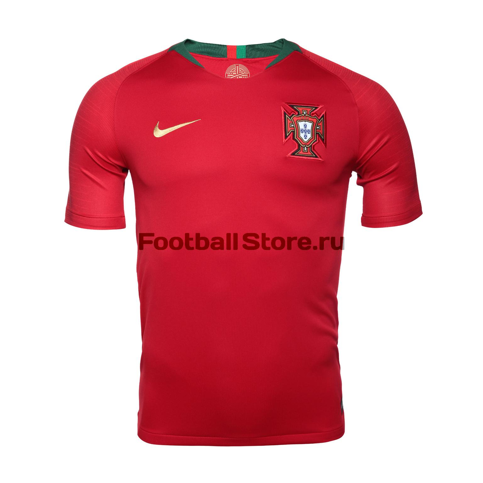 Футболка игровая Nike сборной Португалии 893877-687 футболки nike футболка игровая nike trophy iii 881483 410