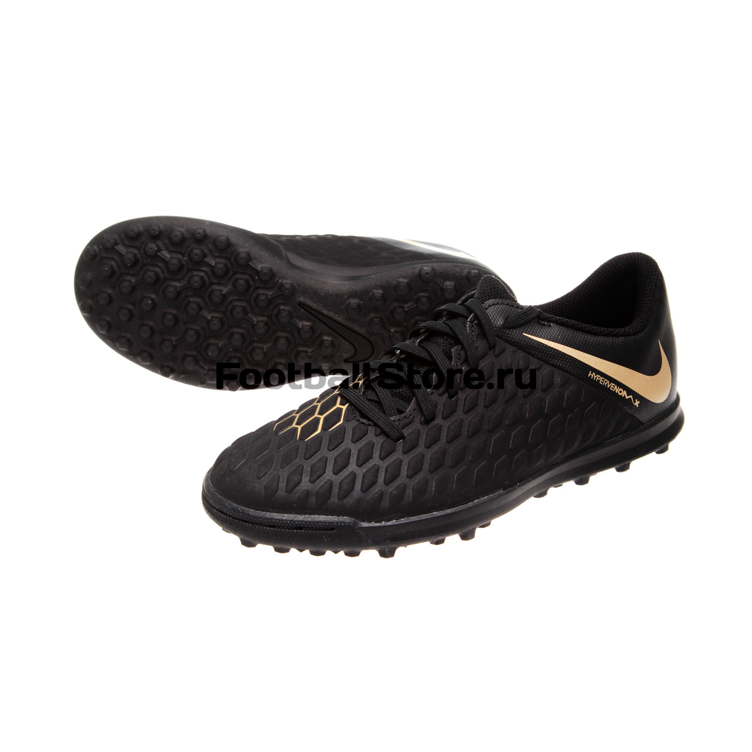 Шиповки Nike Hyprevenom 3 Club JR TF AJ3790-090 детские бутсы nike бутсы nike jr phantom 3 elite df fg ah7292 081