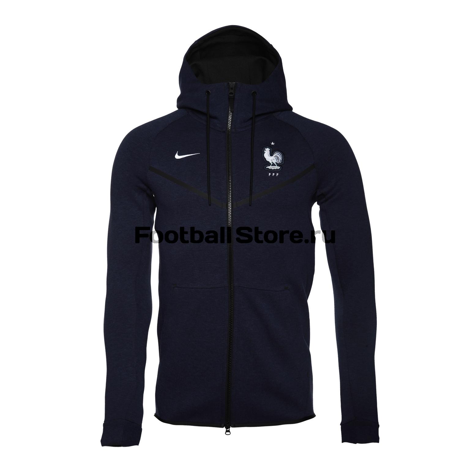 Куртка флисовая Nike сборная Франции 927419-475