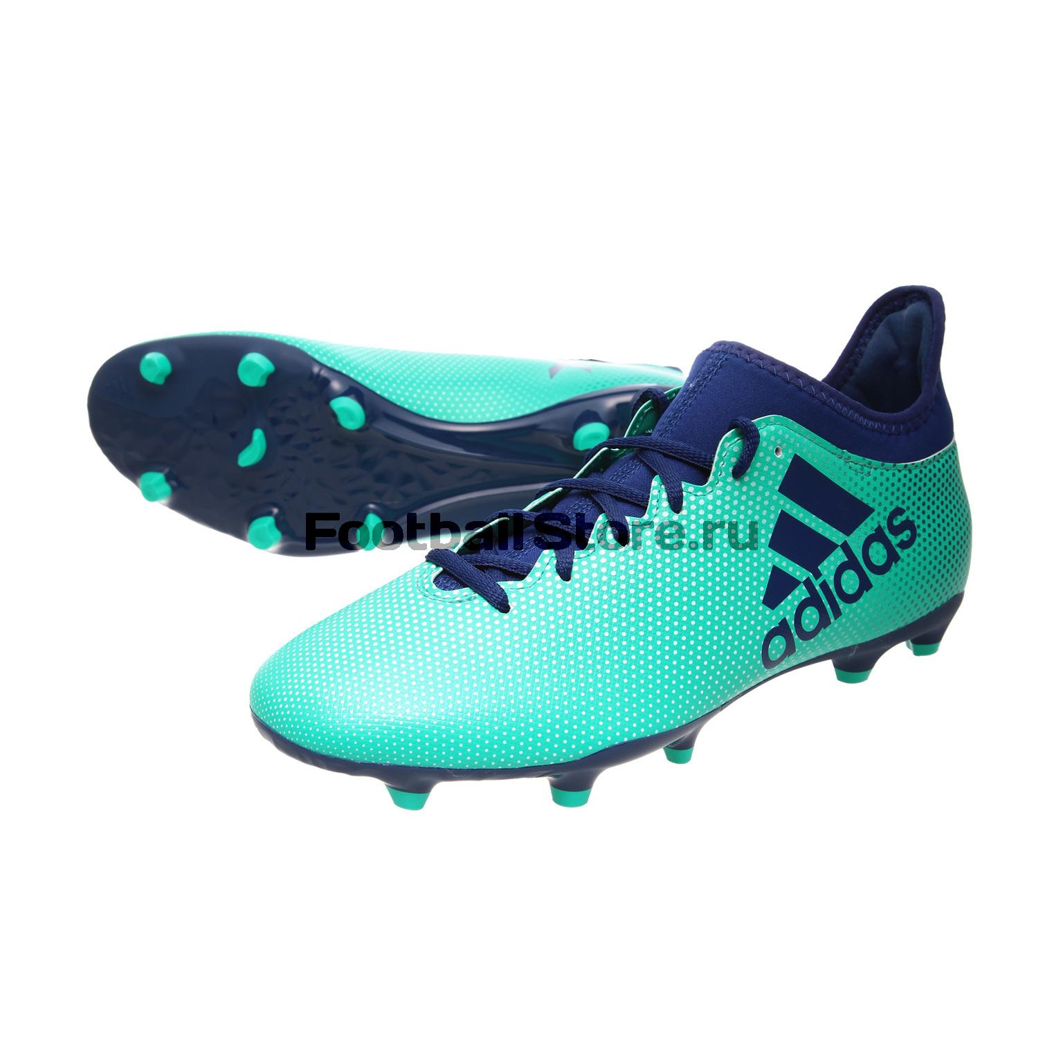 Бутсы Adidas X 17.3 FG CP9194 детские бутсы nike бутсы nike jr phantom 3 elite df fg ah7292 081