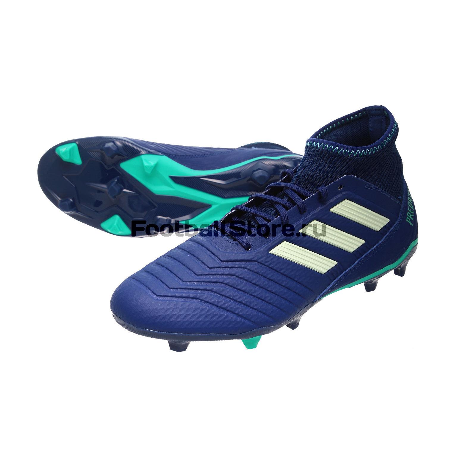 Бутсы Adidas Predator 18.3 FG CP9304 adidas predator junior gk glove