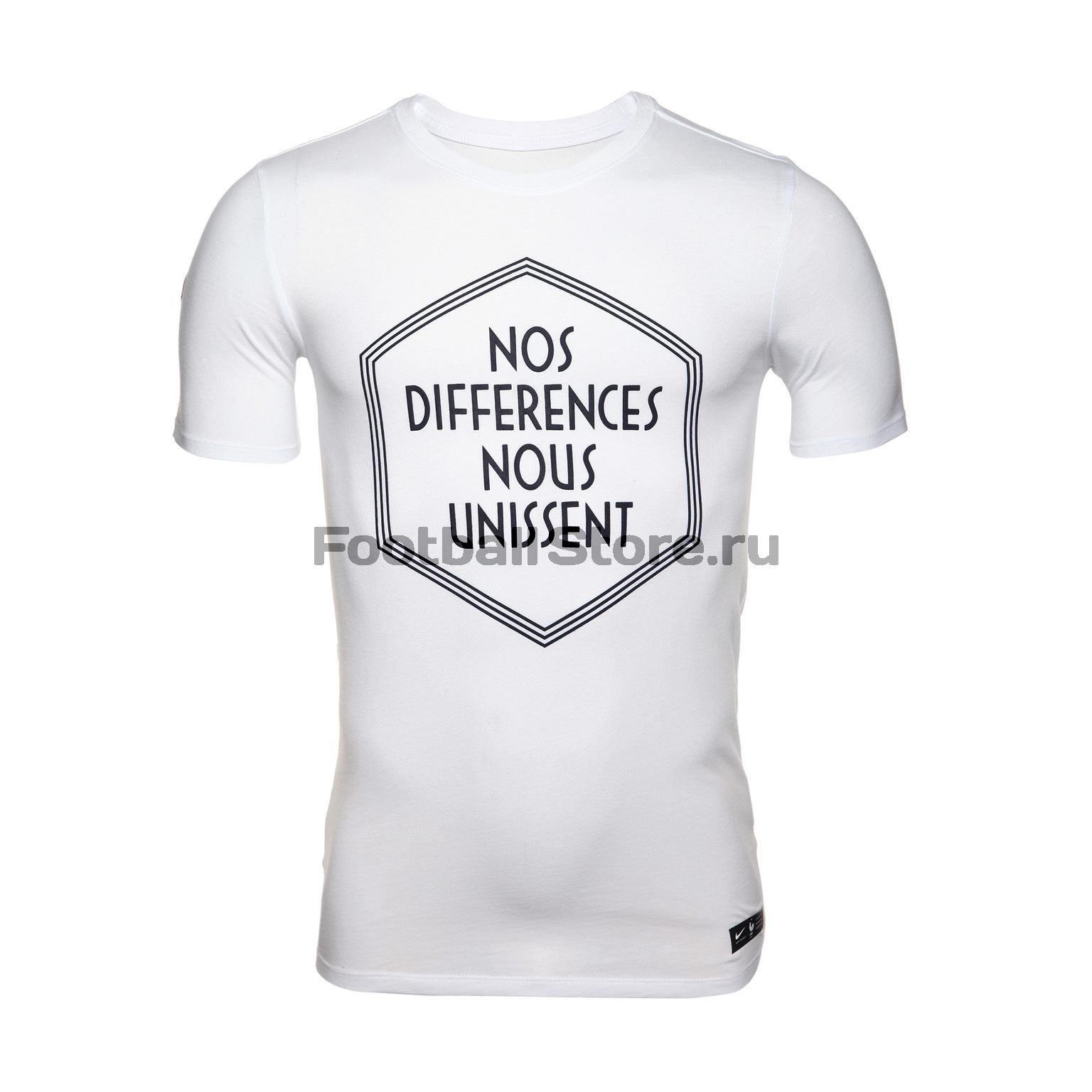 Футболка Nike сборной Франции 888834-100 цена