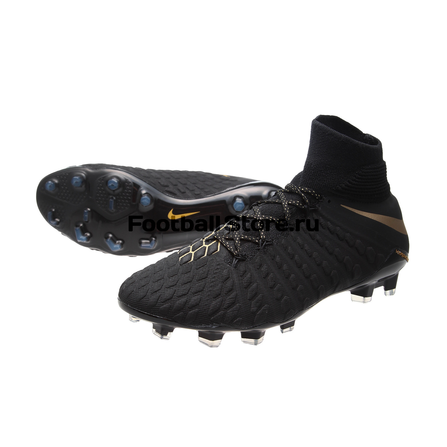 Бутсы Nike Hypervenom 3 Elite DF FG AJ3803-090 чулок д щитков nike guard lock elite sleeve su12 se0173 011 m чёрный