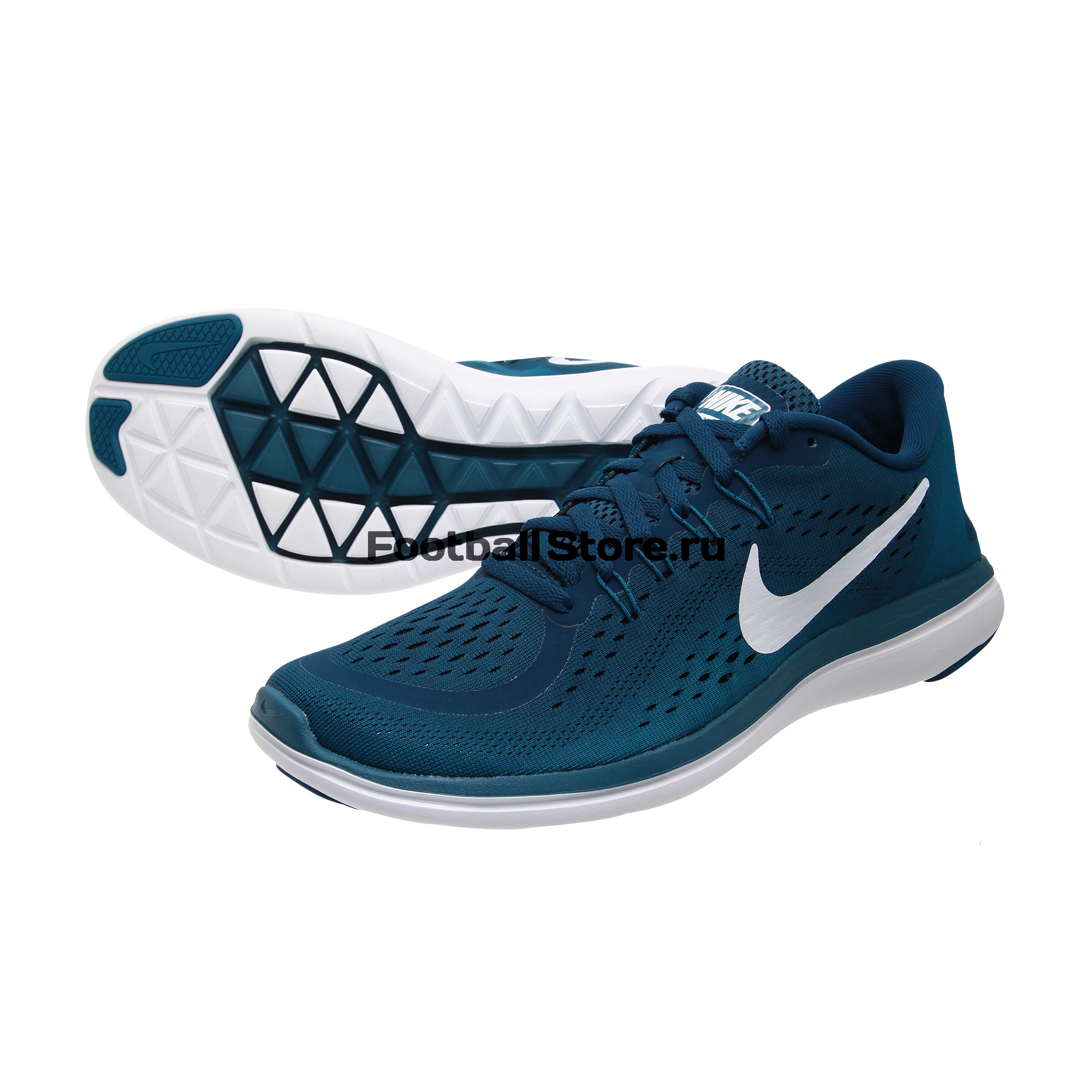 Кроссовки Nike Flex 2017 RN 898457-405 спортинвентарь nike чехол для iphone 6 на руку nike vapor flash arm band 2 0 n rn 50 078 os
