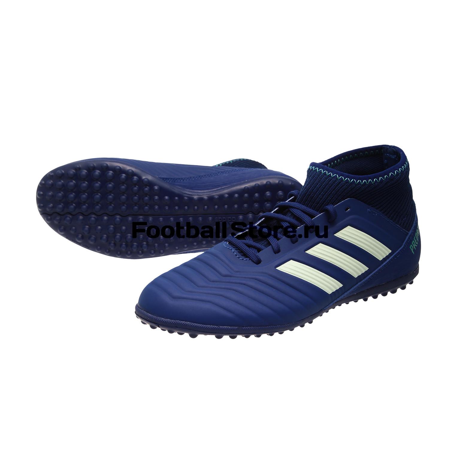 Шиповки детские Adidas Predator Tango 18.3 TF CP9042 adidas шиповки adidas ace 16 3 primemesh tf aq2564