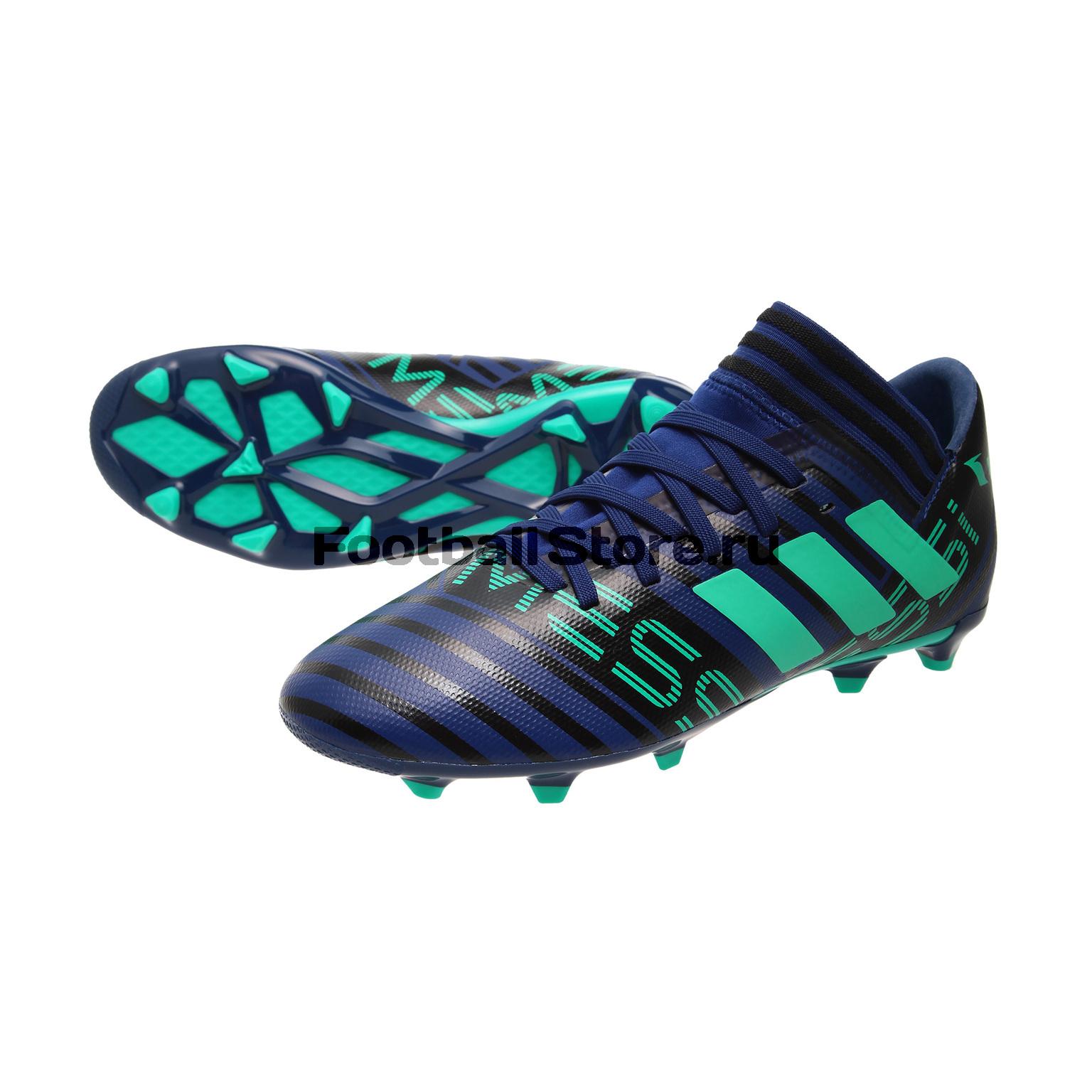 Бутсы Adidas Nemeziz Messi 17.3 FG JR CP9176 бутсы adidas messi 16 2 fg aq3111