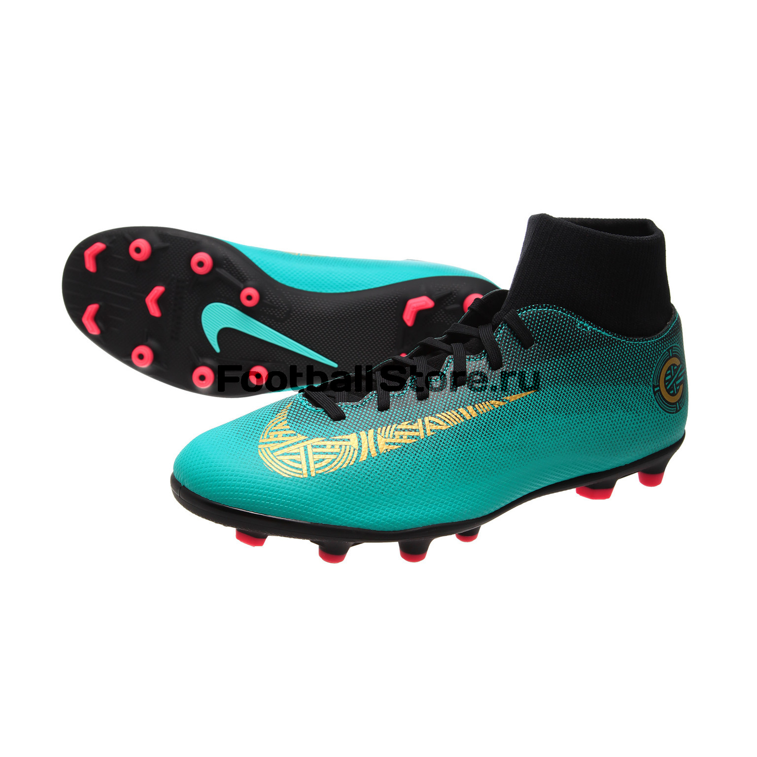 Бутсы Nike SuperFly 6 Club CR7 FG/MG AJ3545-390