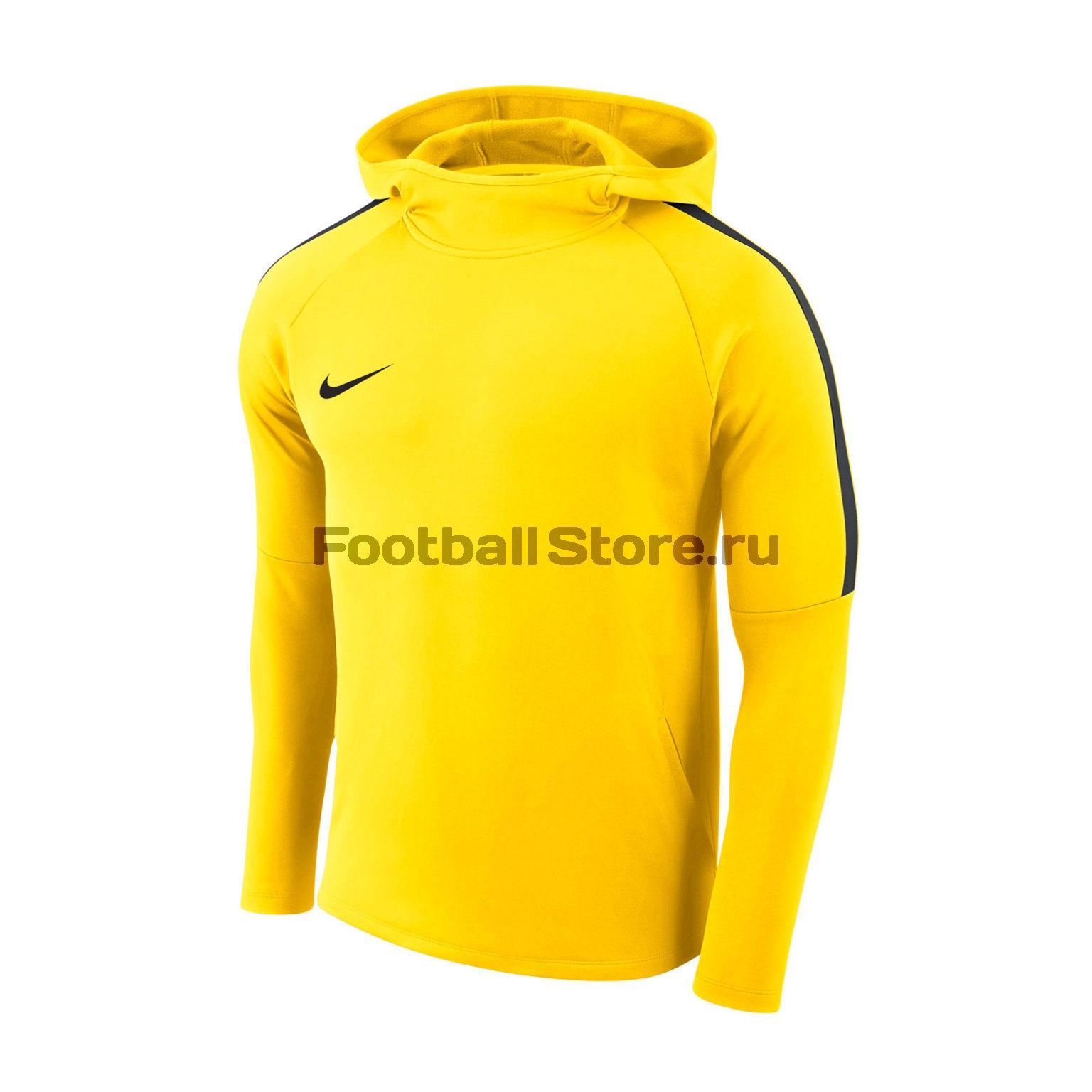 Толстовка подростковая Nike Dry Academy18 Hoodie PO AJ0109-719