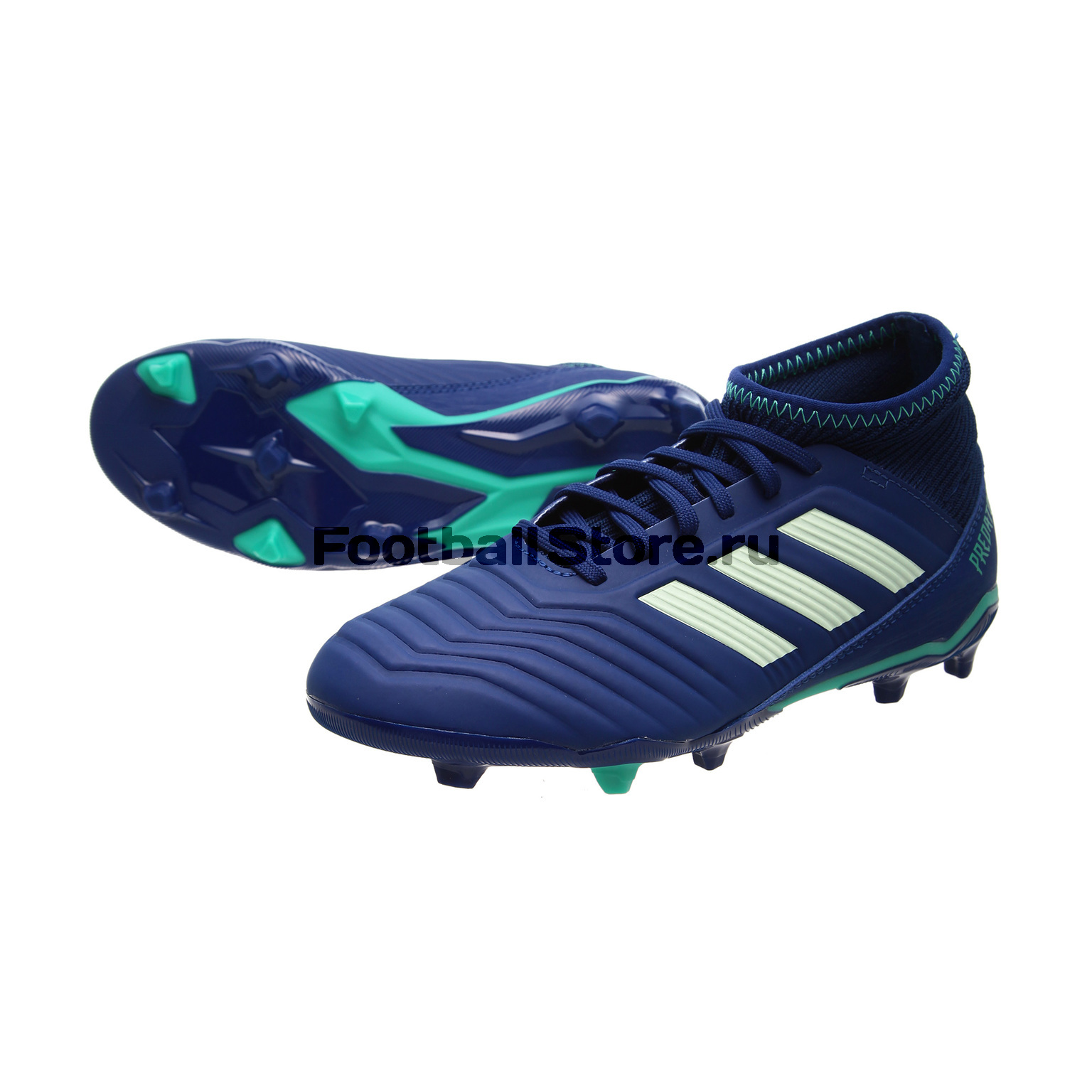Бутсы Adidas Predator 18.3 FG JR CP9012 adidas predator junior gk glove