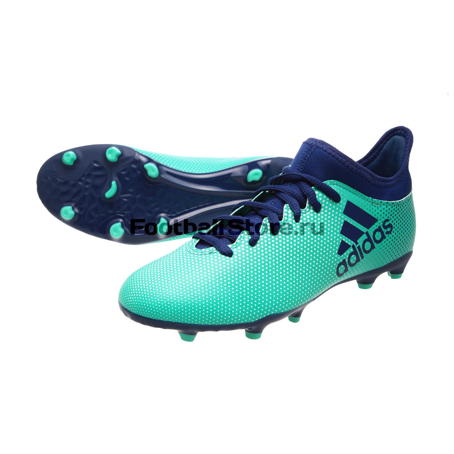 Бутсы Adidas X 17.3 FG JR CP8993 игровые бутсы adidas бутсы adidas x 16 purechaos fg bb5615