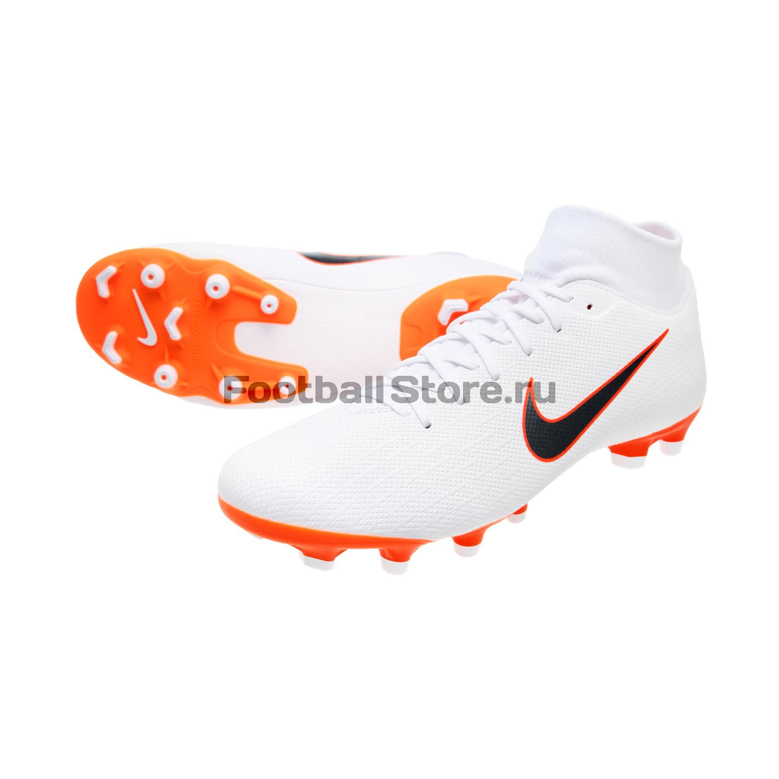 Бутсы Nike Superfly 6 Academy FG/MG AH7362-107 бутсы детские nike superfly 6 elite fg ah7340 107