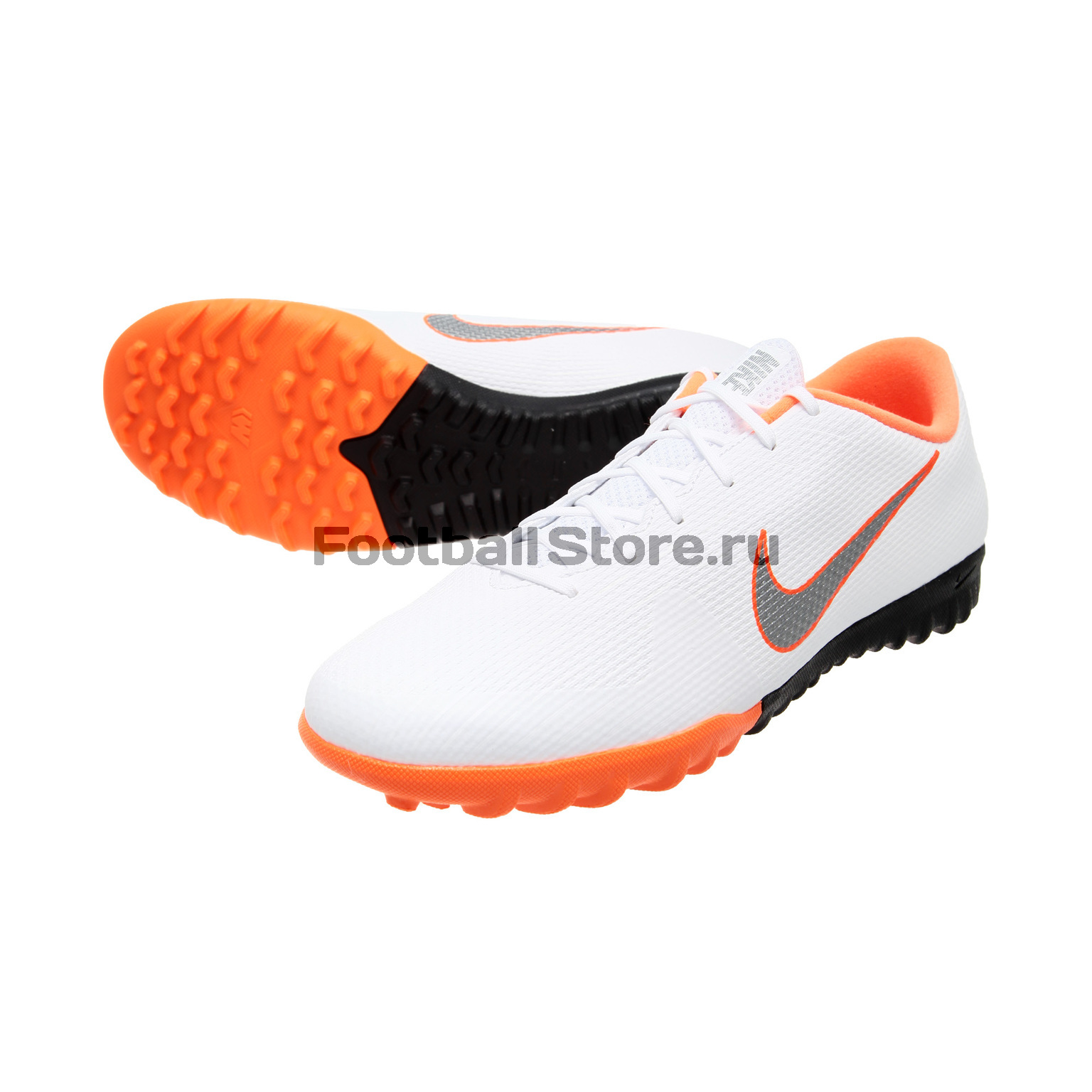 Шиповки Nike VaporX 12 Academy TF AH7384-107 шиповки nike lunar legendx 7 pro tf ah7249 080