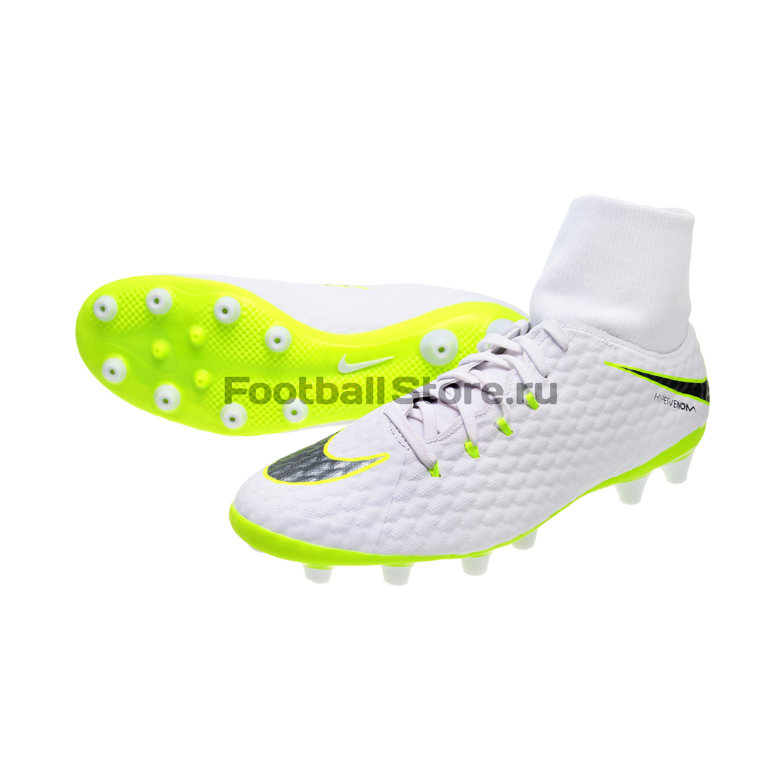 Бутсы Nike Phantom 3 Academy DF AG-Pro AH7266-107 бутсы nike шиповки nike jr tiempox legend vi tf 819191 018