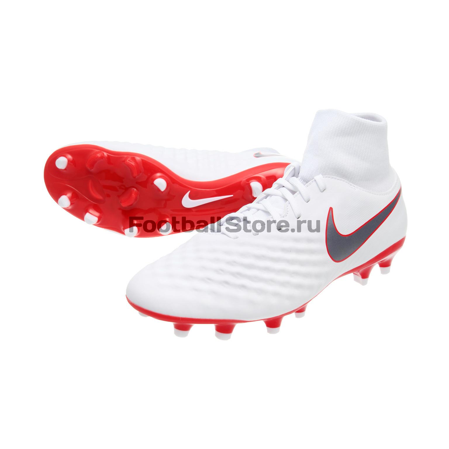 Бутсы Nike Obra 2 Academy DF FG AH7303-107 бутсы nike jr obra 2 club fg ah7314 107