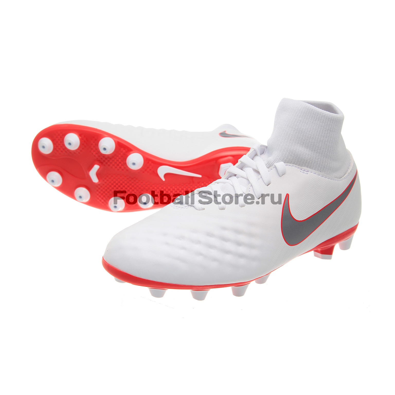 Бутсы детские Nike Obra 2 Academy DF AG-Pro AO4556-107 бутсы детские nike phantom vision academy df sg aq9298 400