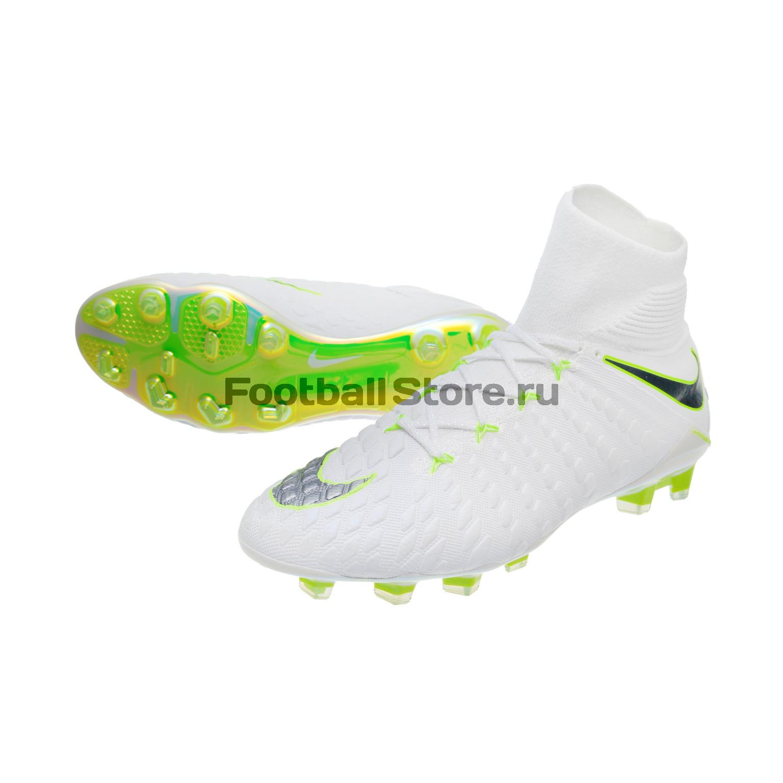 Бутсы Nike Hypervenom 3 Elite DF FG AJ3803-107