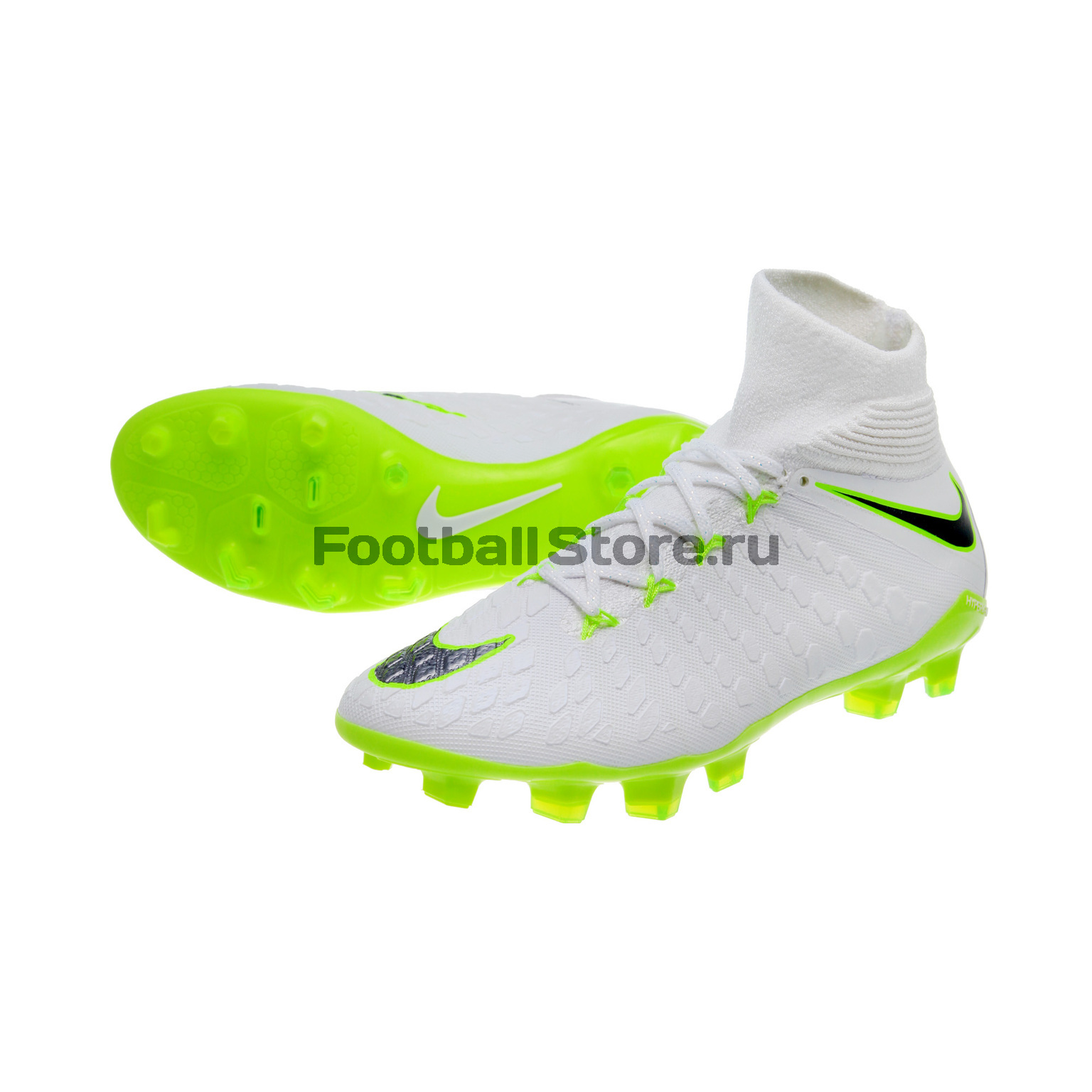 Бутсы детские Nike Hypervenom 3 Elite DF FG AJ3791-107