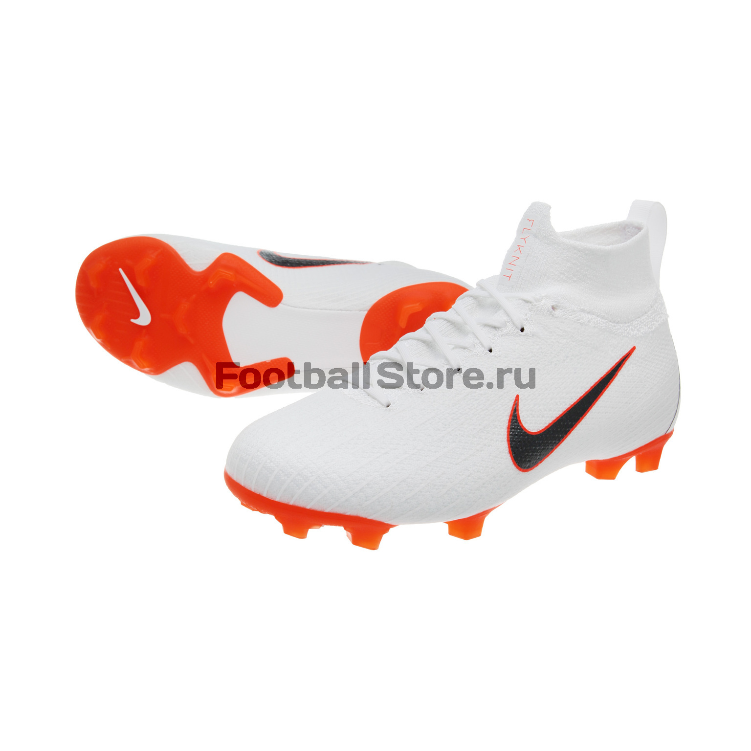 Бутсы детские Nike Superfly 6 Elite FG AH7340-107 бутсы nike superfly 6 elite fg ah7365 060