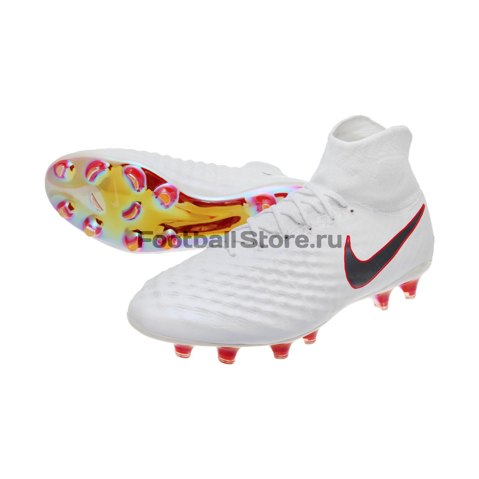 Бутсы Nike Magista Obra 2 Elite DF FG AH7301-107 бутсы nike jr obra 2 club fg ah7314 107