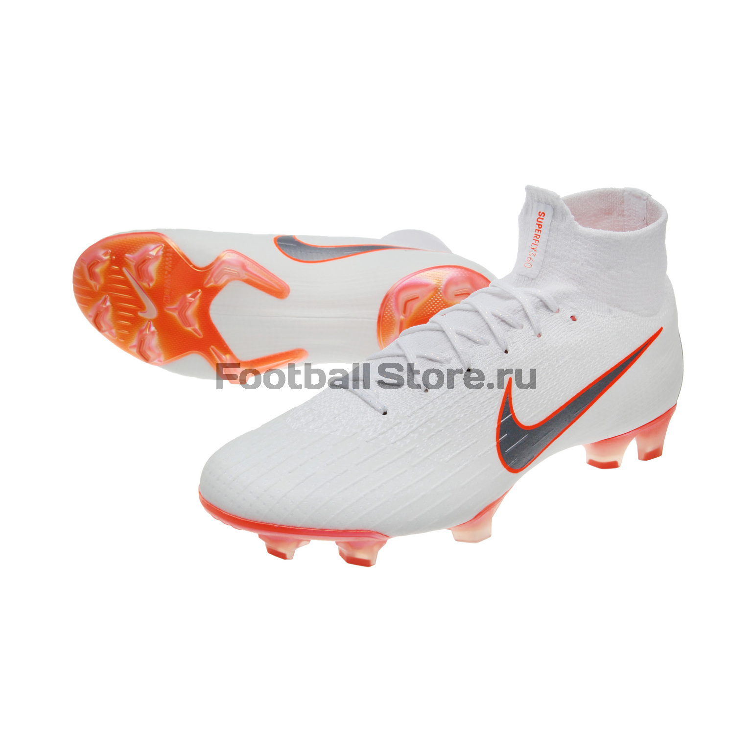 Бутсы Nike Superfly 6 Elite FG AH7365-107 бутсы nike шиповки nike jr tiempox legend vi tf 819191 018