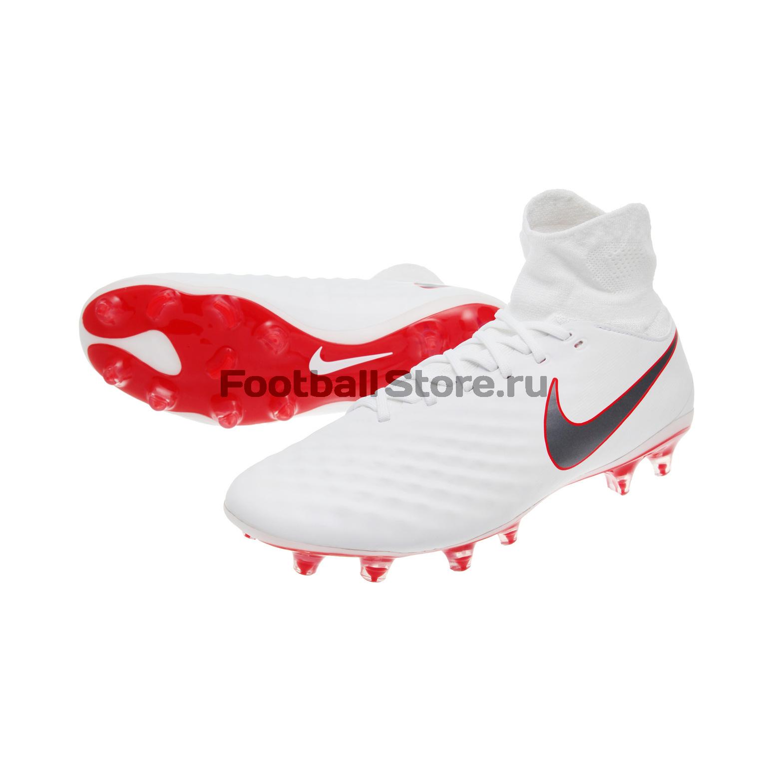 Бутсы Nike Magista Obra 2 Pro DF FG AH7308-107 бутсы nike jr obra 2 club fg ah7314 107