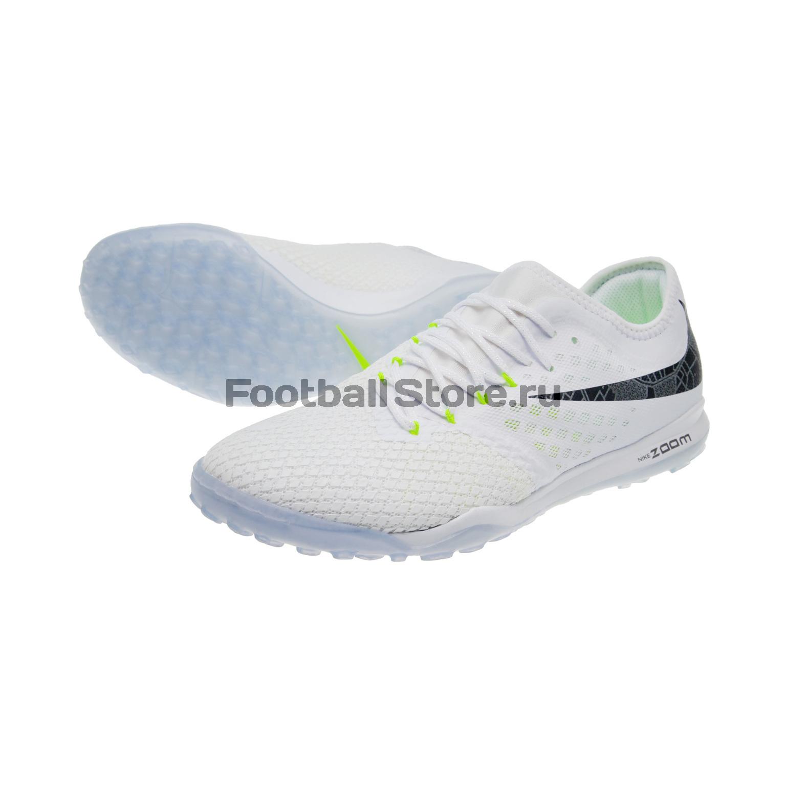 Шиповки Nike Hypervenom Zoom 3 Pro TF AJ3817-107 шиповки nike vaporx 12 pro tf ah7388 810