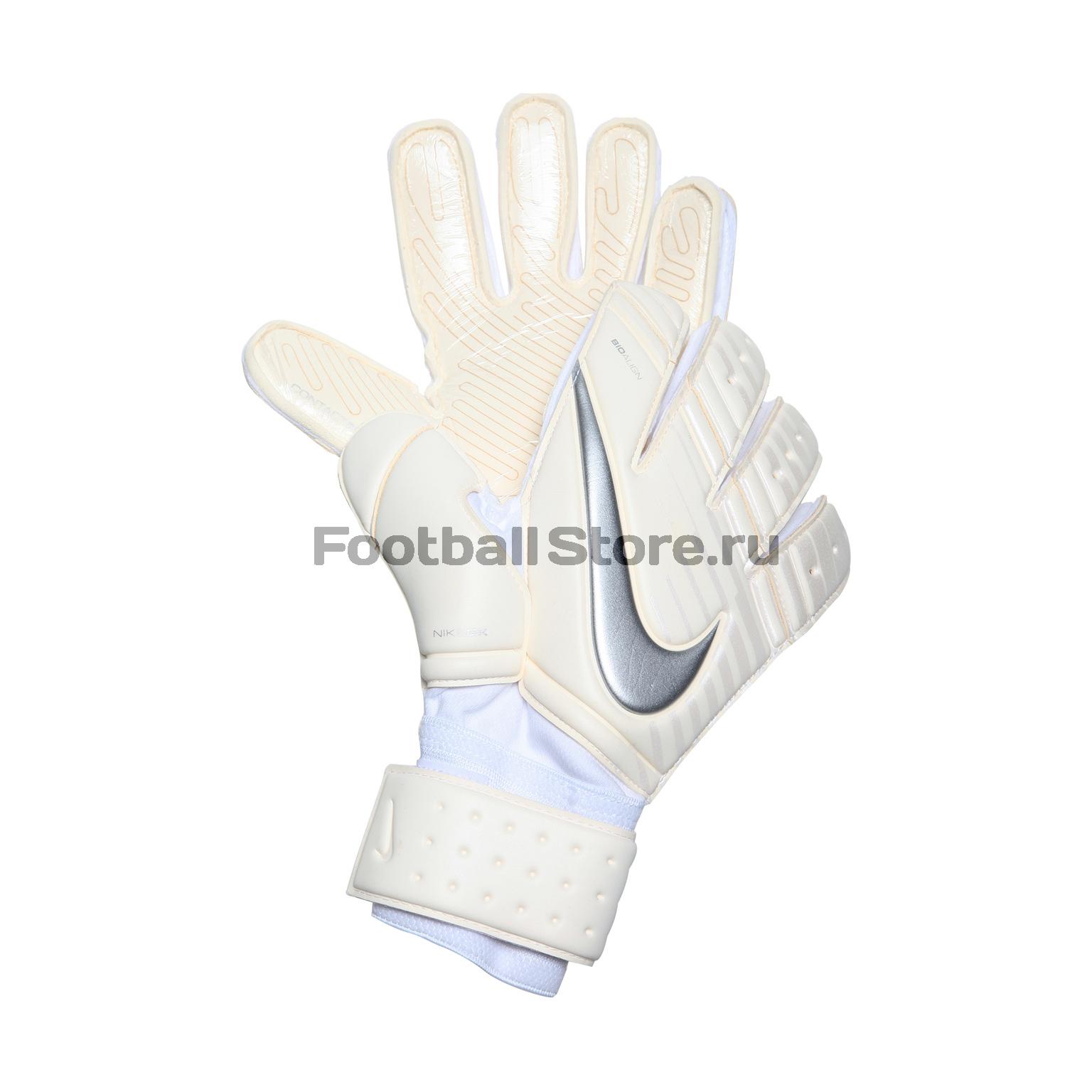 Перчатки вратарские Nike GK PRMR SGT GS0345-100 классические nike мяч nike nk prmr team fifa sc2971 100