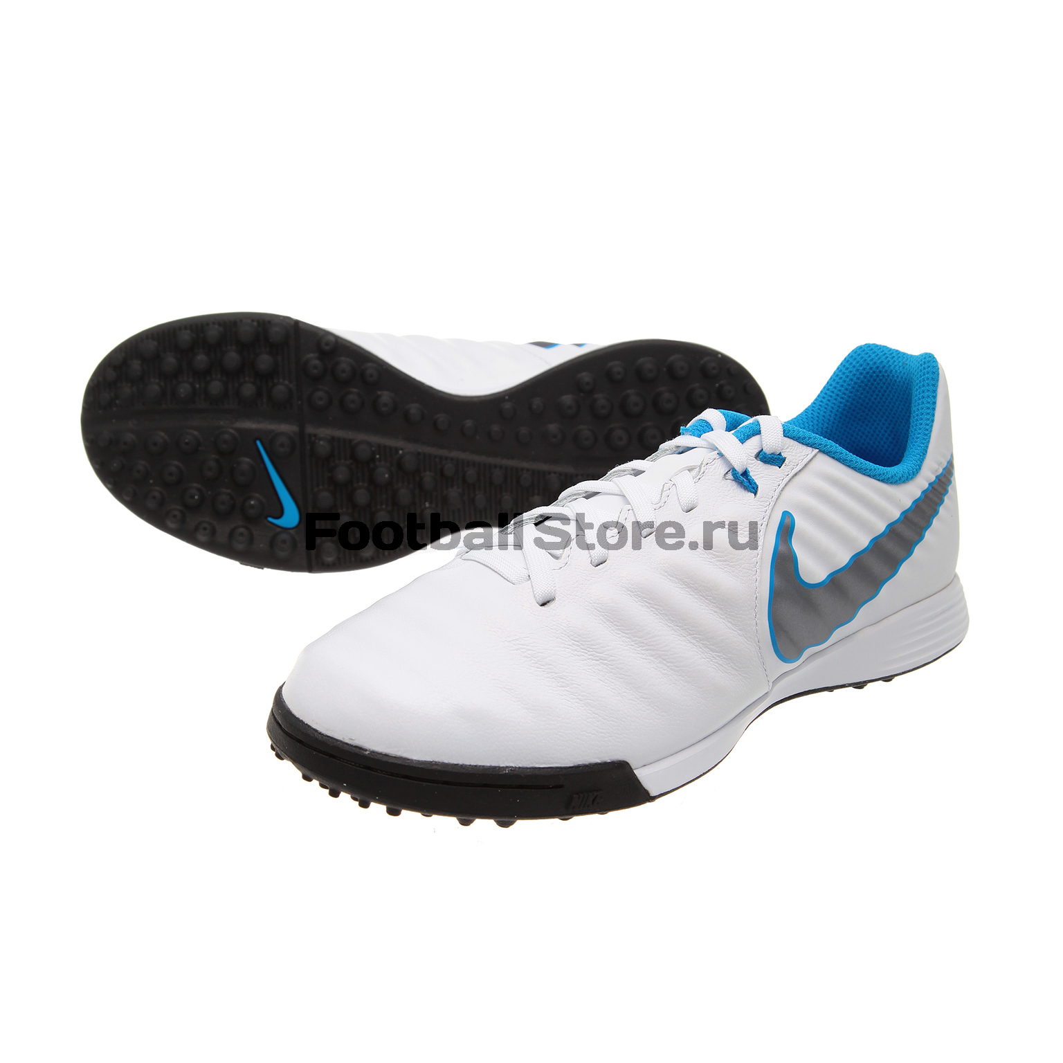 Шиповки детские Nike Legend X Academy TF AH7259-107 бутсы nike шиповки nike jr tiempox legend vi tf 819191 018
