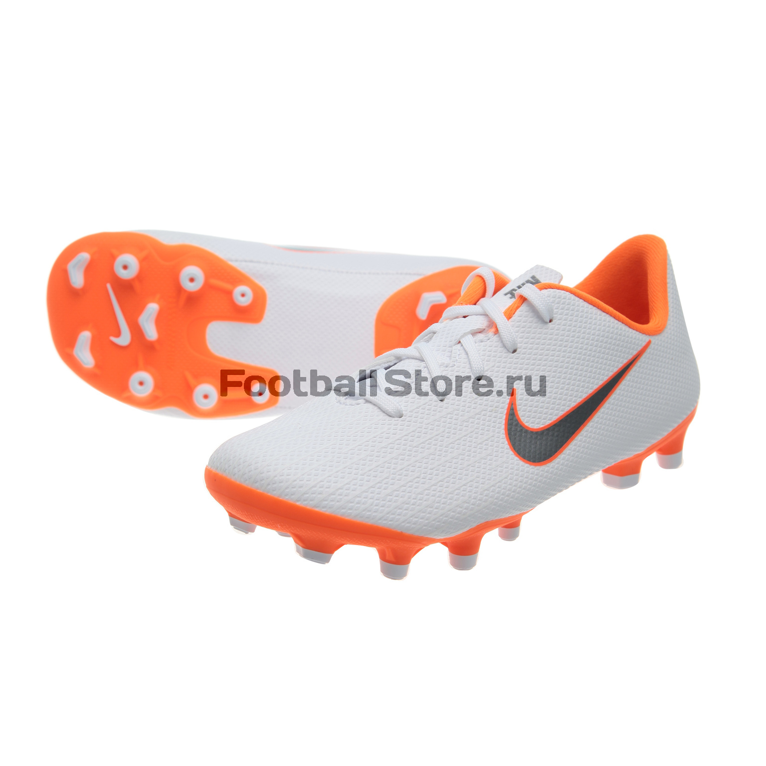 Бутсы детские Nike Vapor 12 Academy PS FG/MG AH7349-107 бутсы nike mercurial victory iii fg 509128 800