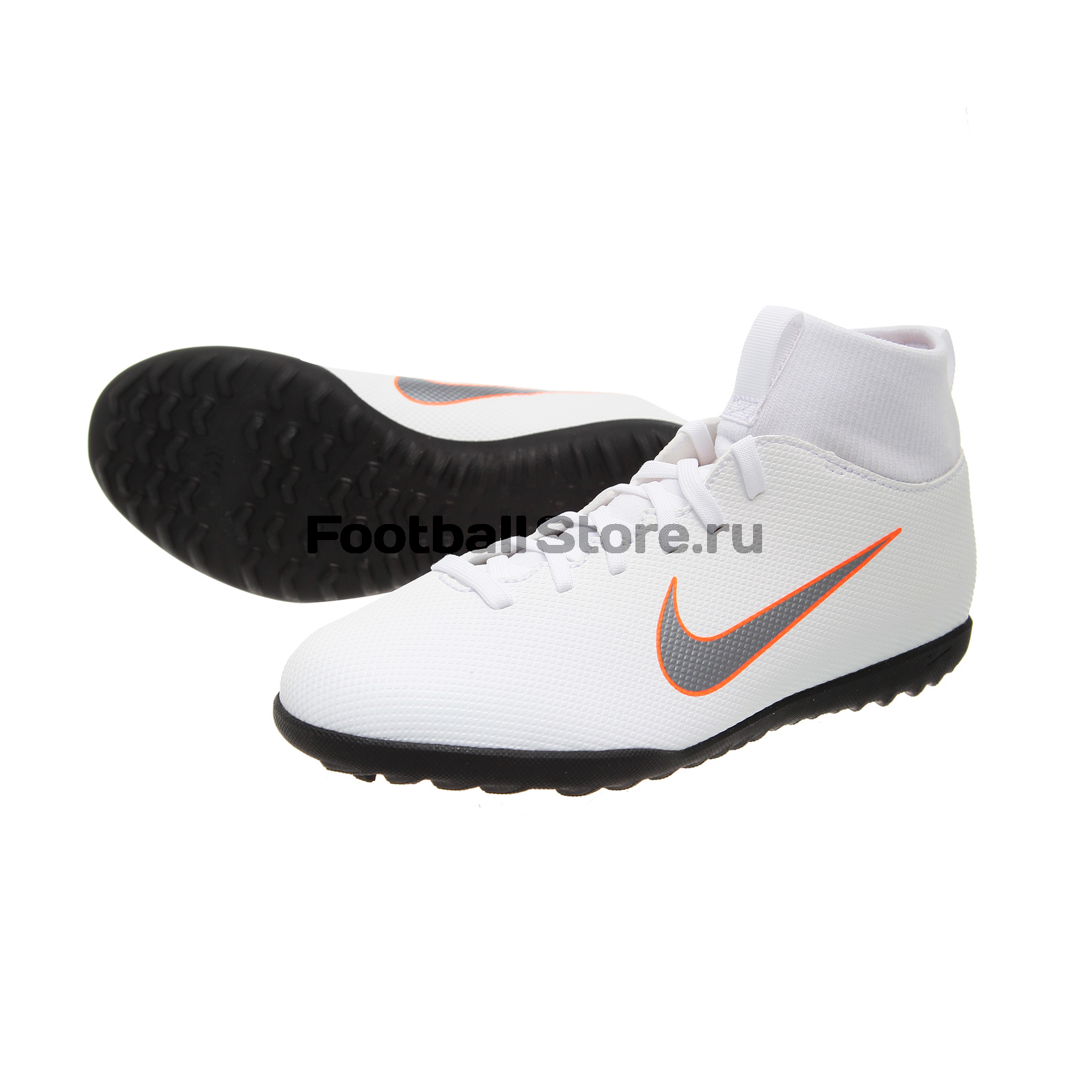 Шиповки Nike JR SuperflyX 6 Club TF AH7345-107 шиповки nike шиповки nike hypervenomx proximo ii df tf 852576 801