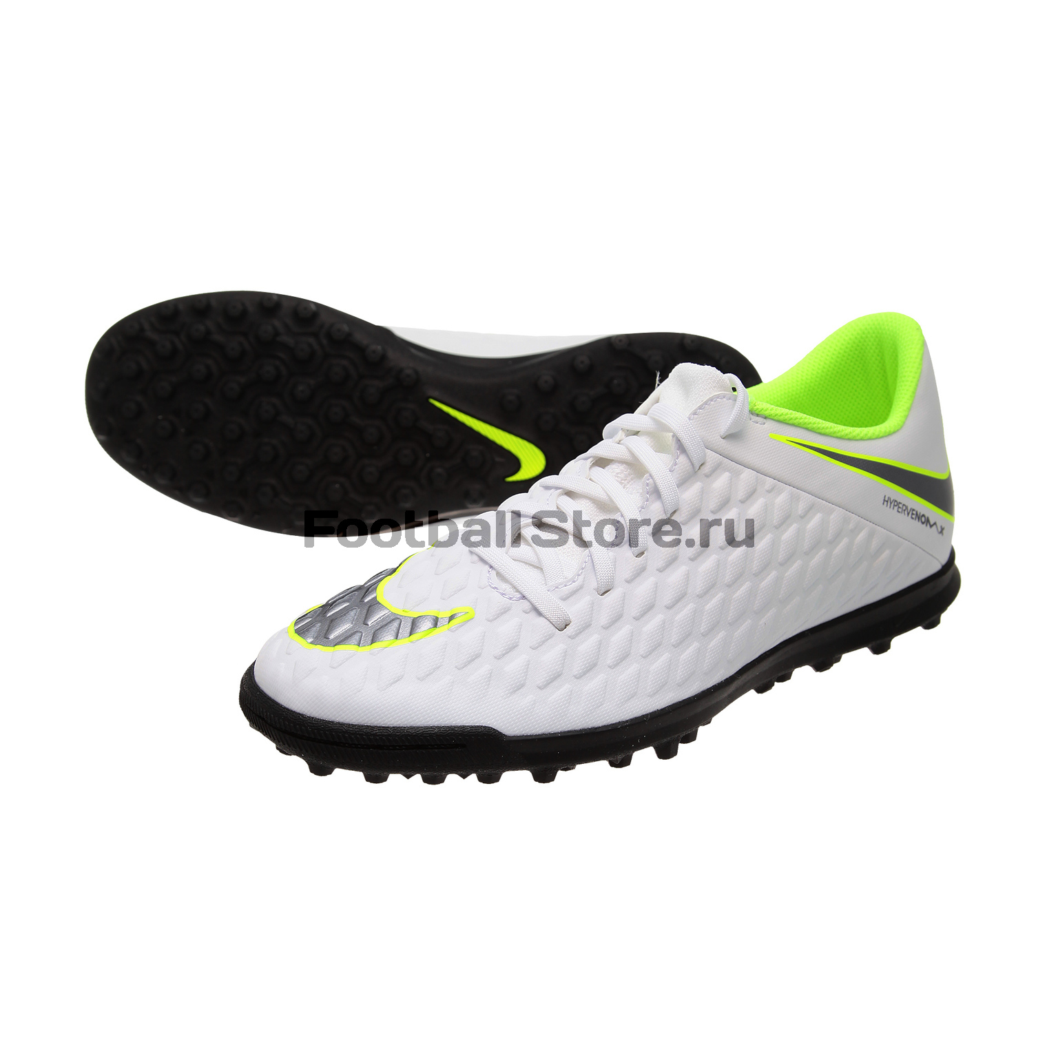 Шиповки Nike Hypervenom 3 Club TF AJ3811-107 шиповки nike lunar legendx 7 pro tf ah7249 080