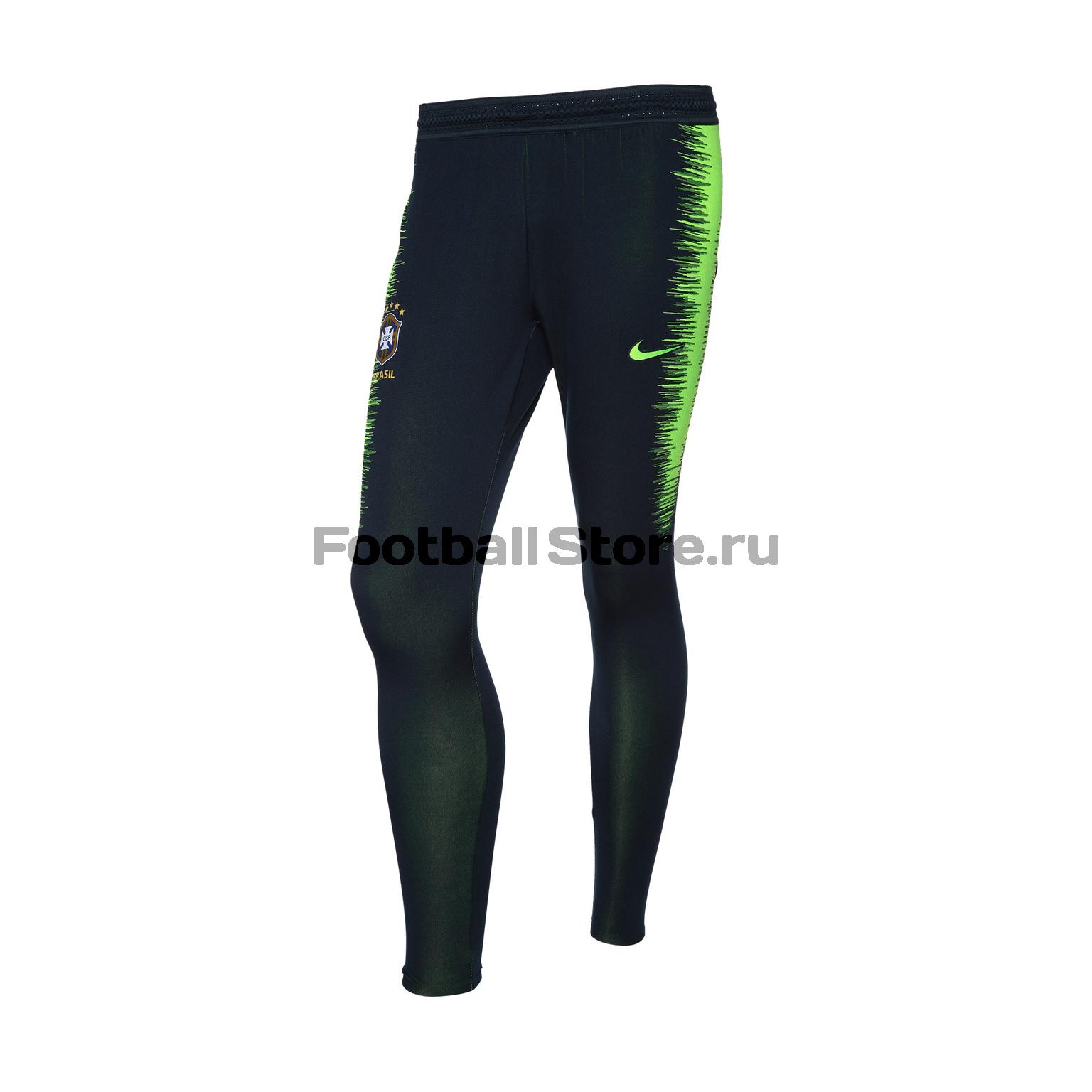 Брюки тренировочные Nike сборной Бразилии 893122-454 nike брюки тренировочные nike strike pnt wp wz 688393 011