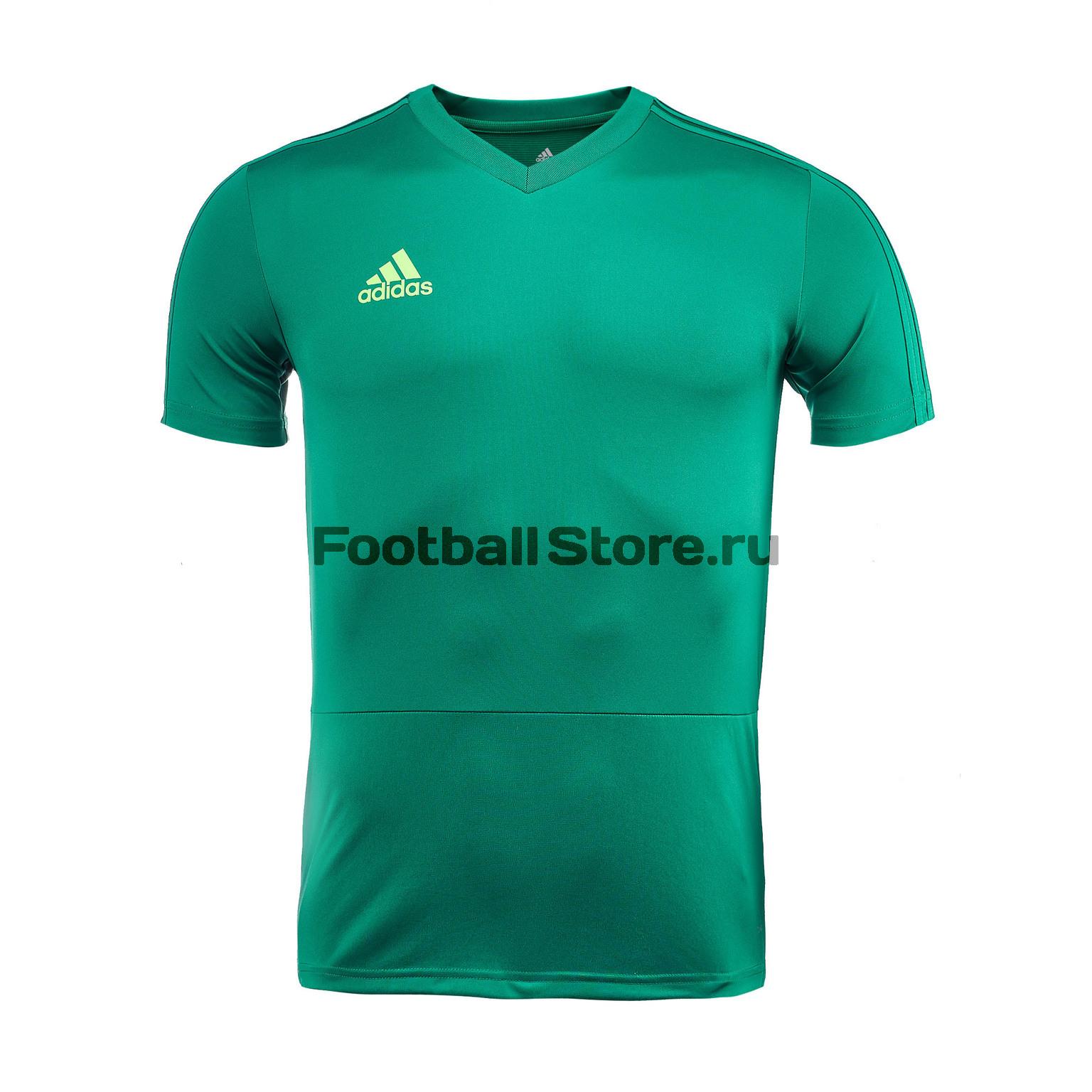Футболка тренировочная Adidas Con18 TR JSY CG0358 футболка тренировочная adidas con18 cg0352