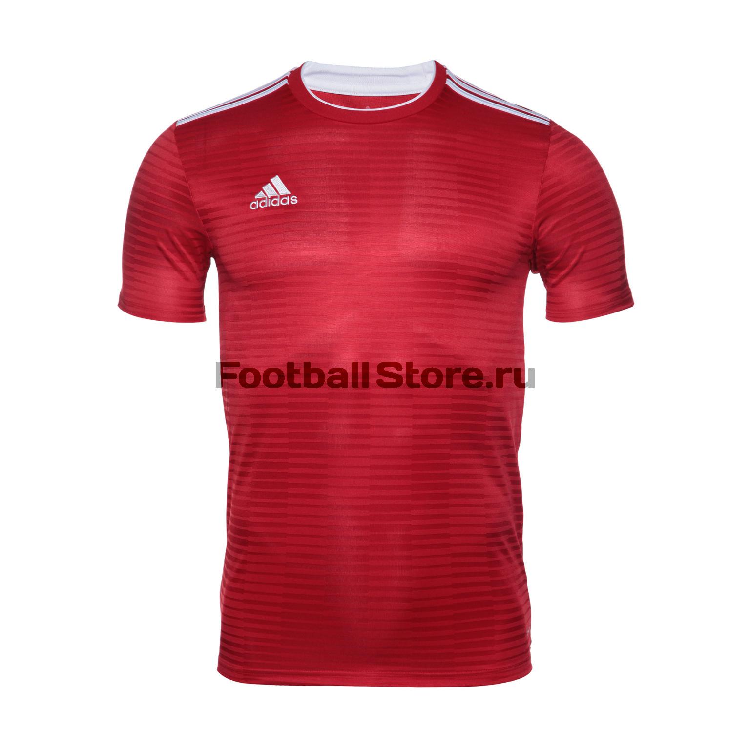 цена Футболка игровая Adidas Con18 JSY CF0677 онлайн в 2017 году