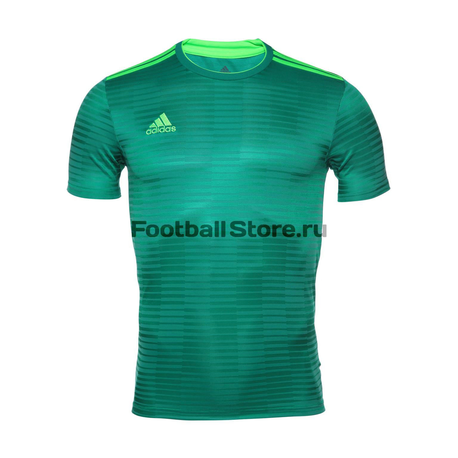 Футболка игровая Adidas Con18 JSY CF0683 футболка игровая nike dry tiempo prem jsy ss 894230 057