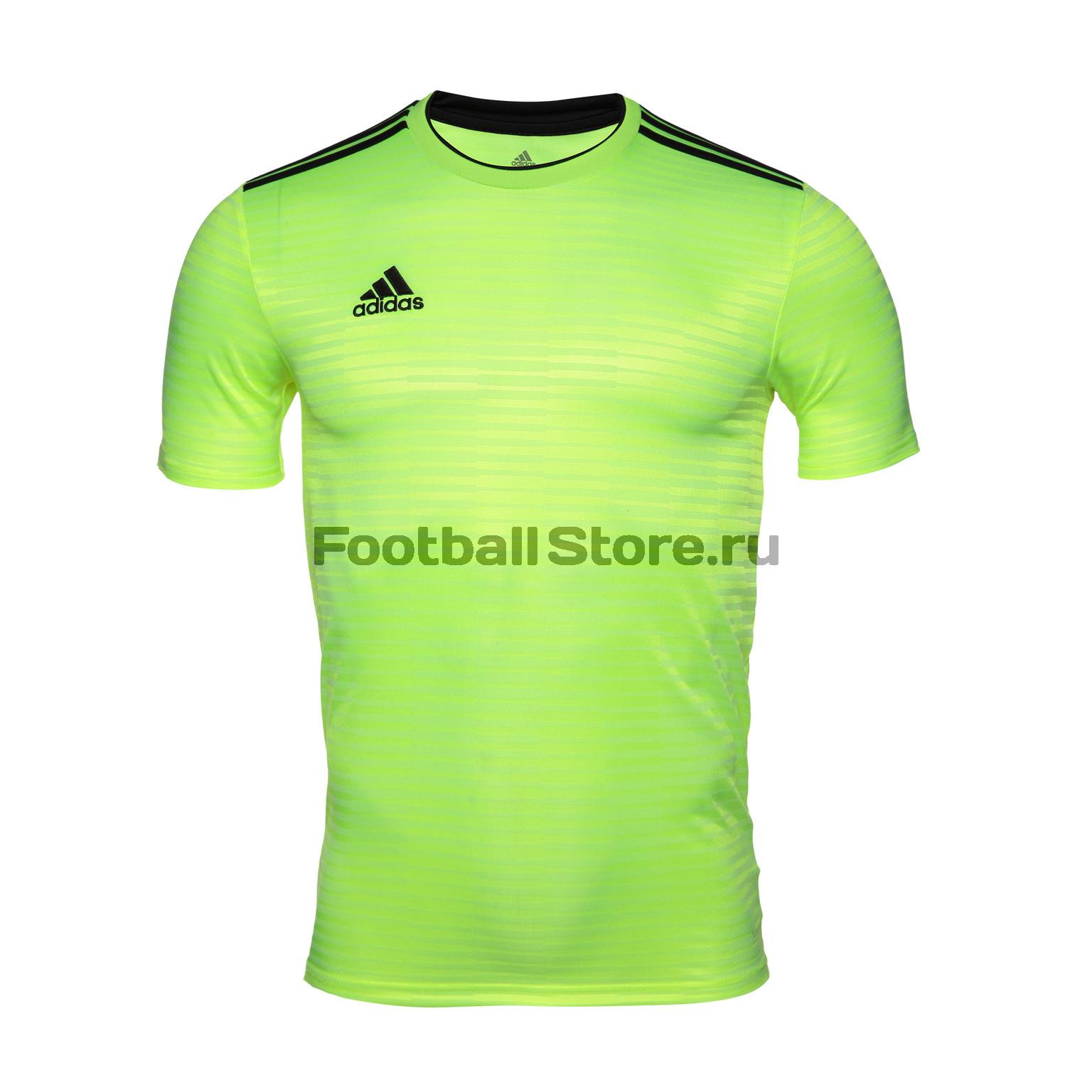 Футболка игровая Adidas Con18 JSY CF0685 футболка игровая nike dry tiempo prem jsy ss 894230 057