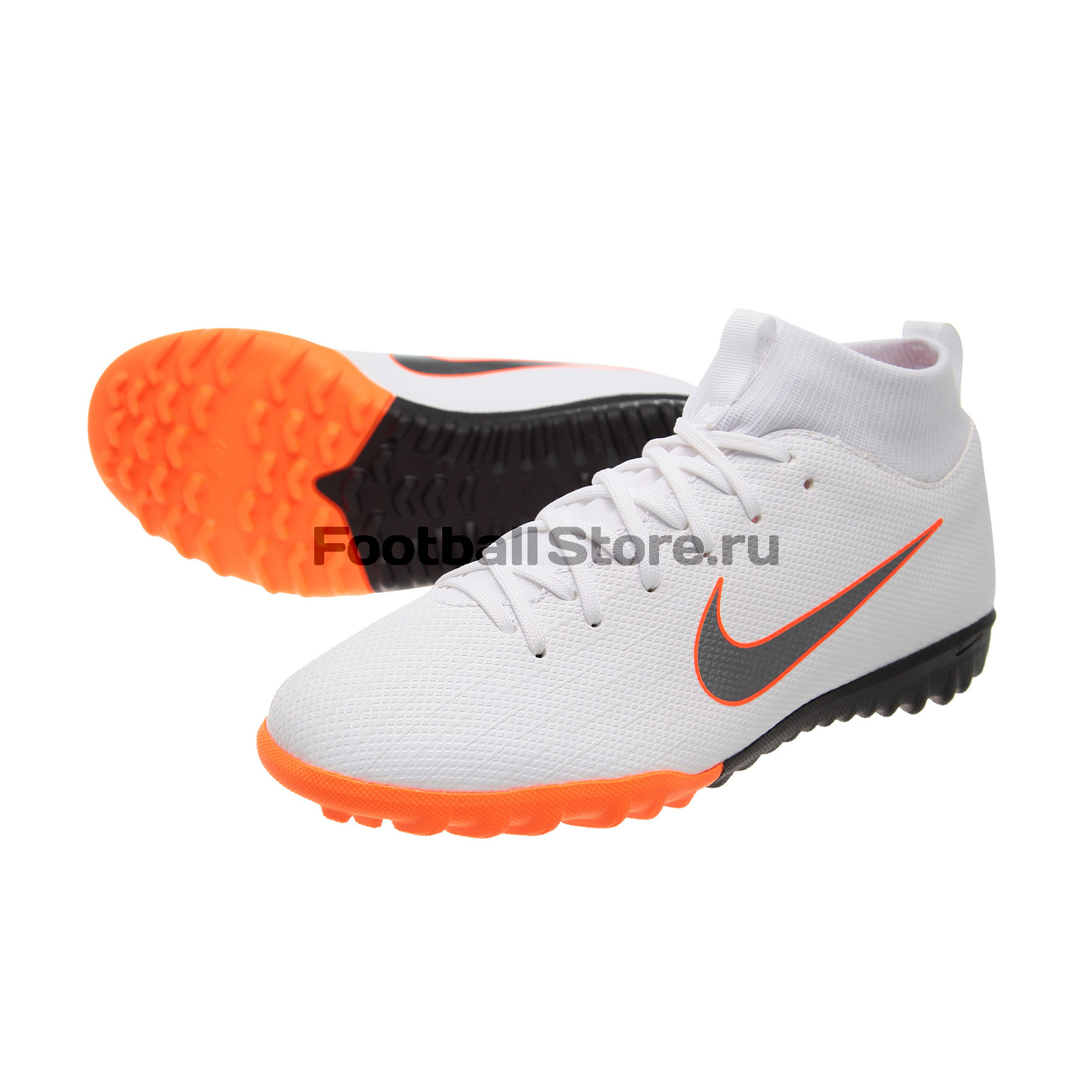 Шиповки детские Nike SuperFly X Academy GS TF AH7344-107 бутсы nike шиповки nike jr tiempox legend vi tf 819191 018
